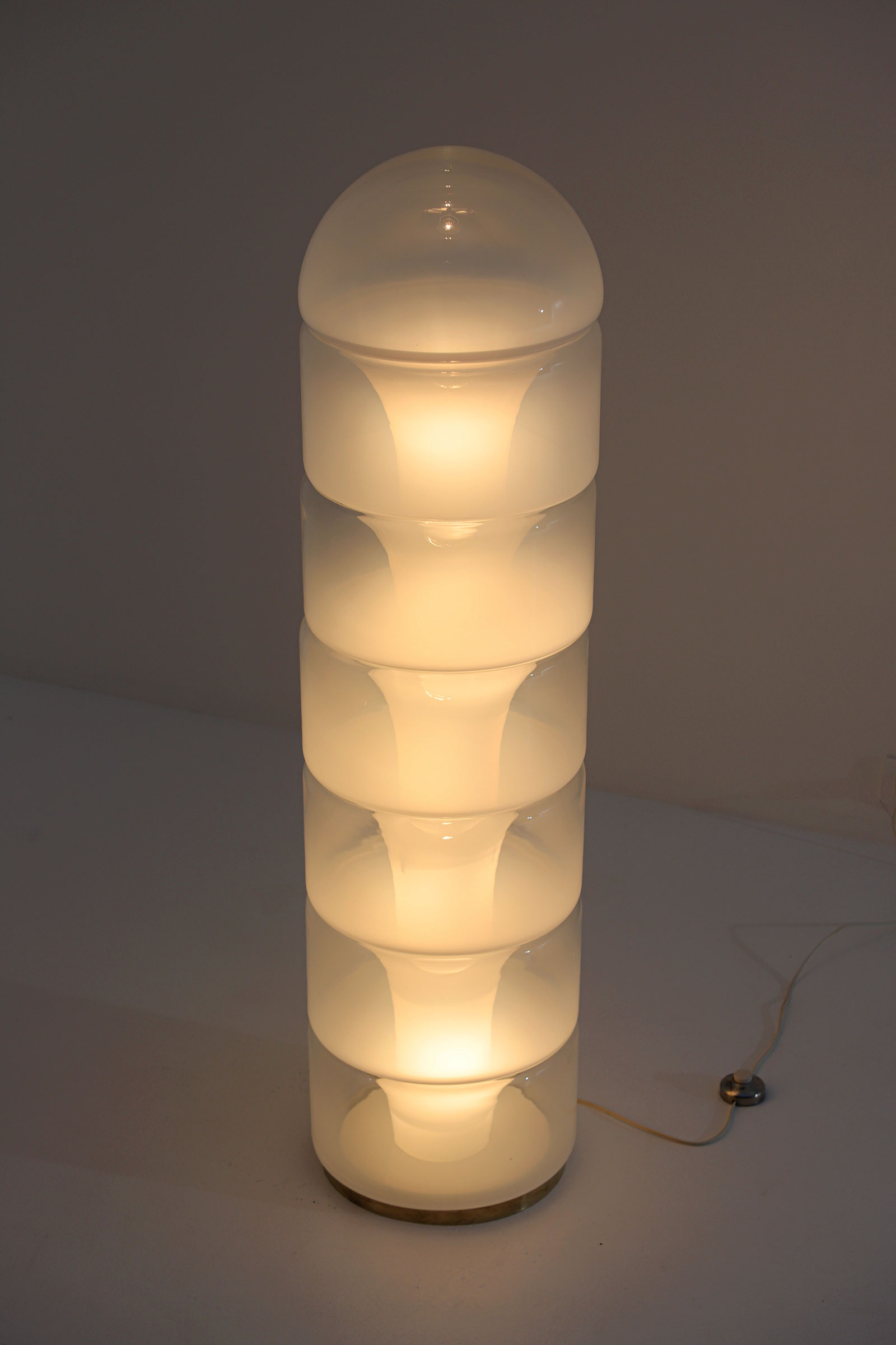 LT316 floor lamp by Carlo Nason for Mazzegaimage 6