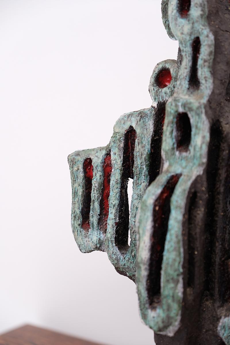 Sculptural Ceramic Work circa 1960simage 4