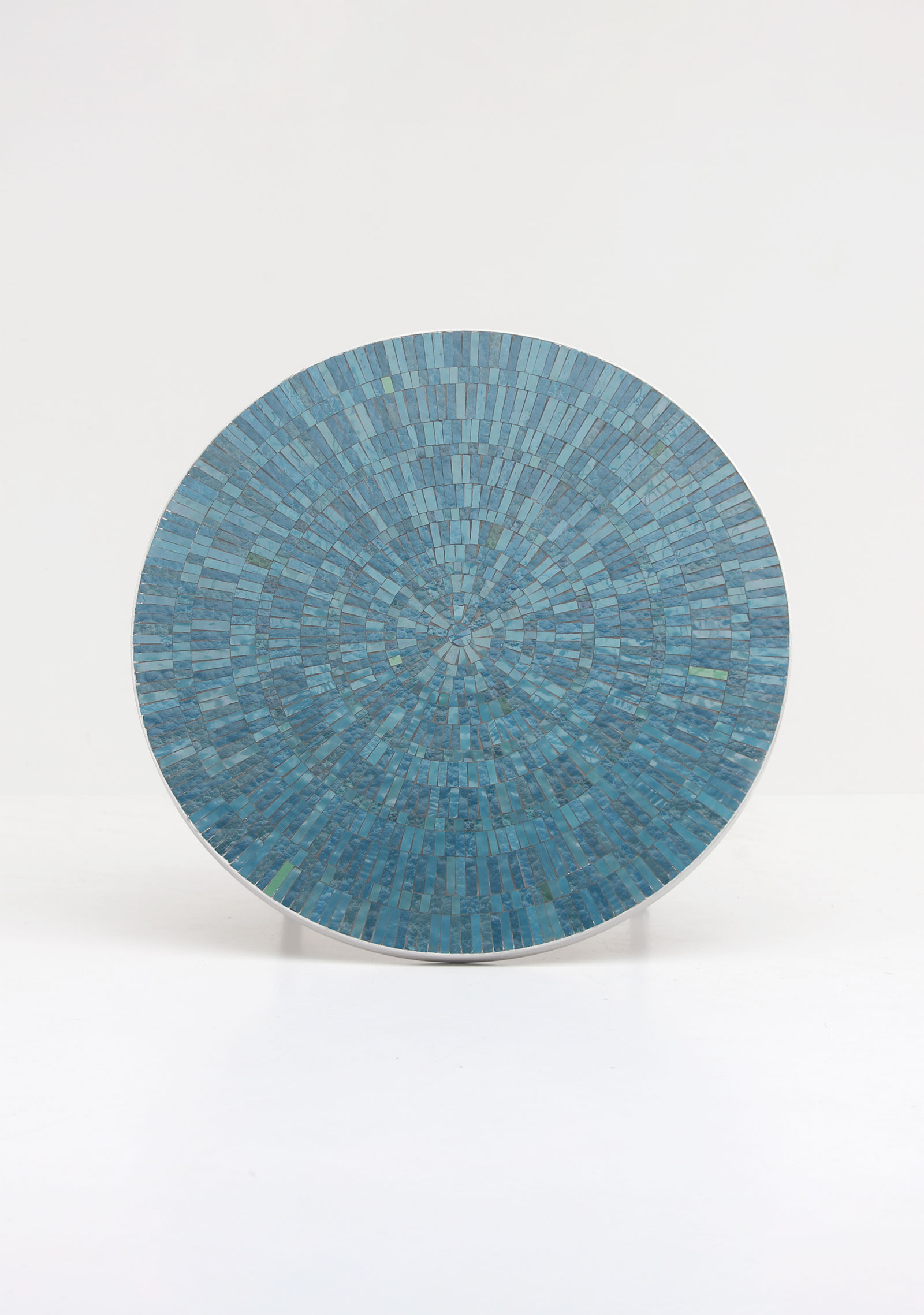 1960s Azure Round Ceramic Coffee Tableimage 5