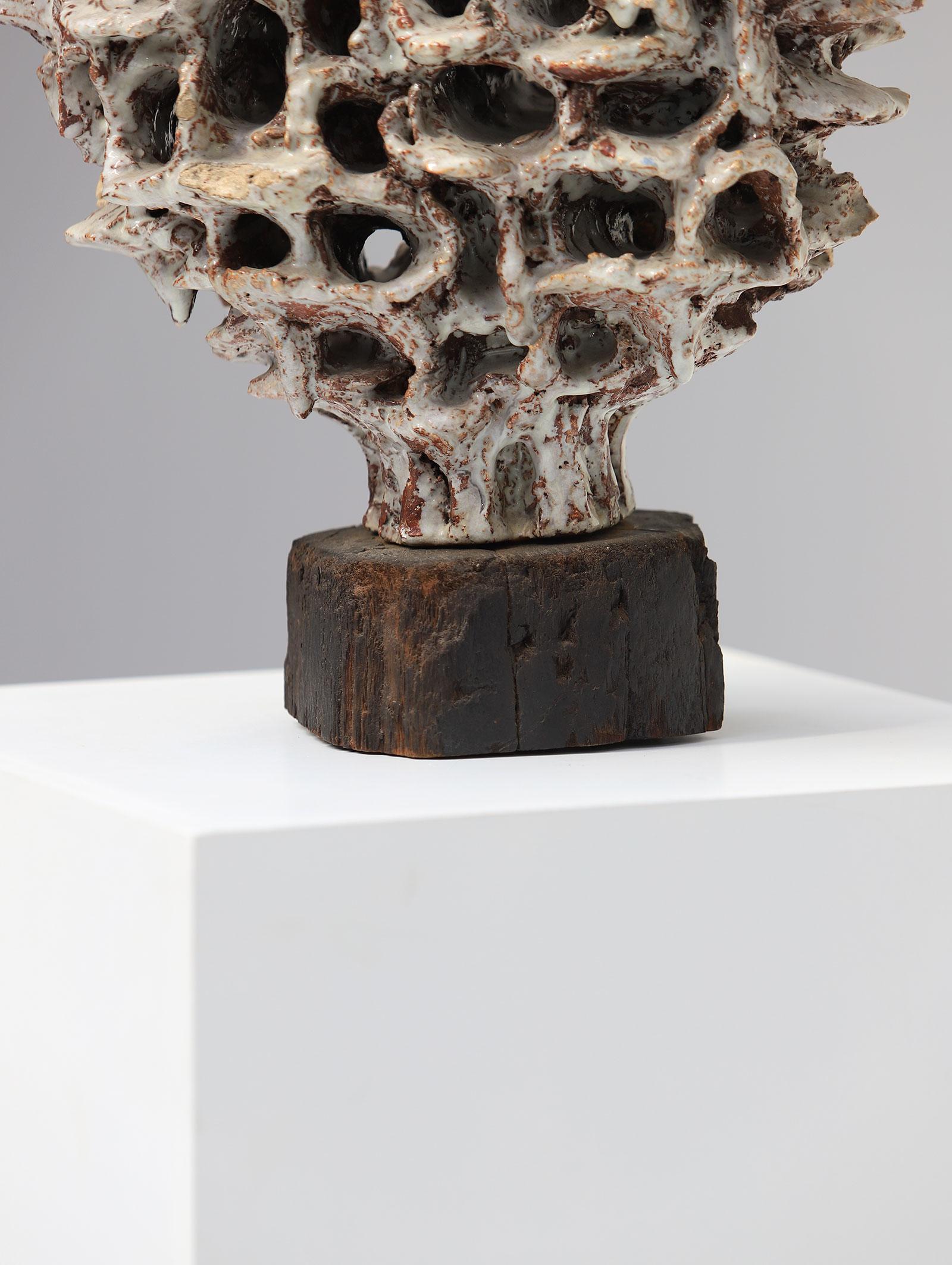 60s ceramic sculpture artwork