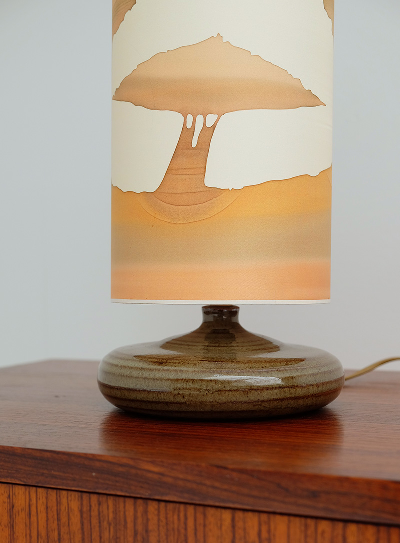 1970S SOFT COLORED TABLE LAMP image 5