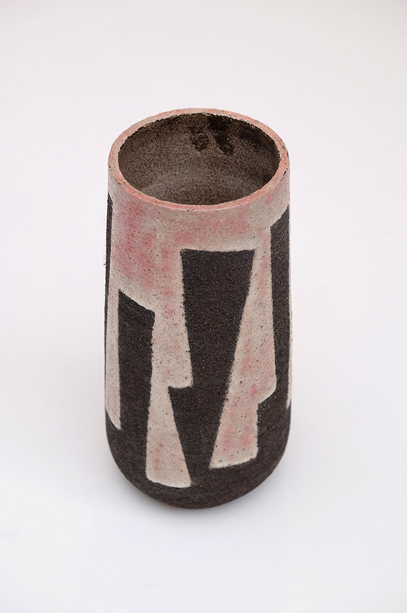 Modernist Stoneware Vase from the Zaalberg Atelier image 2