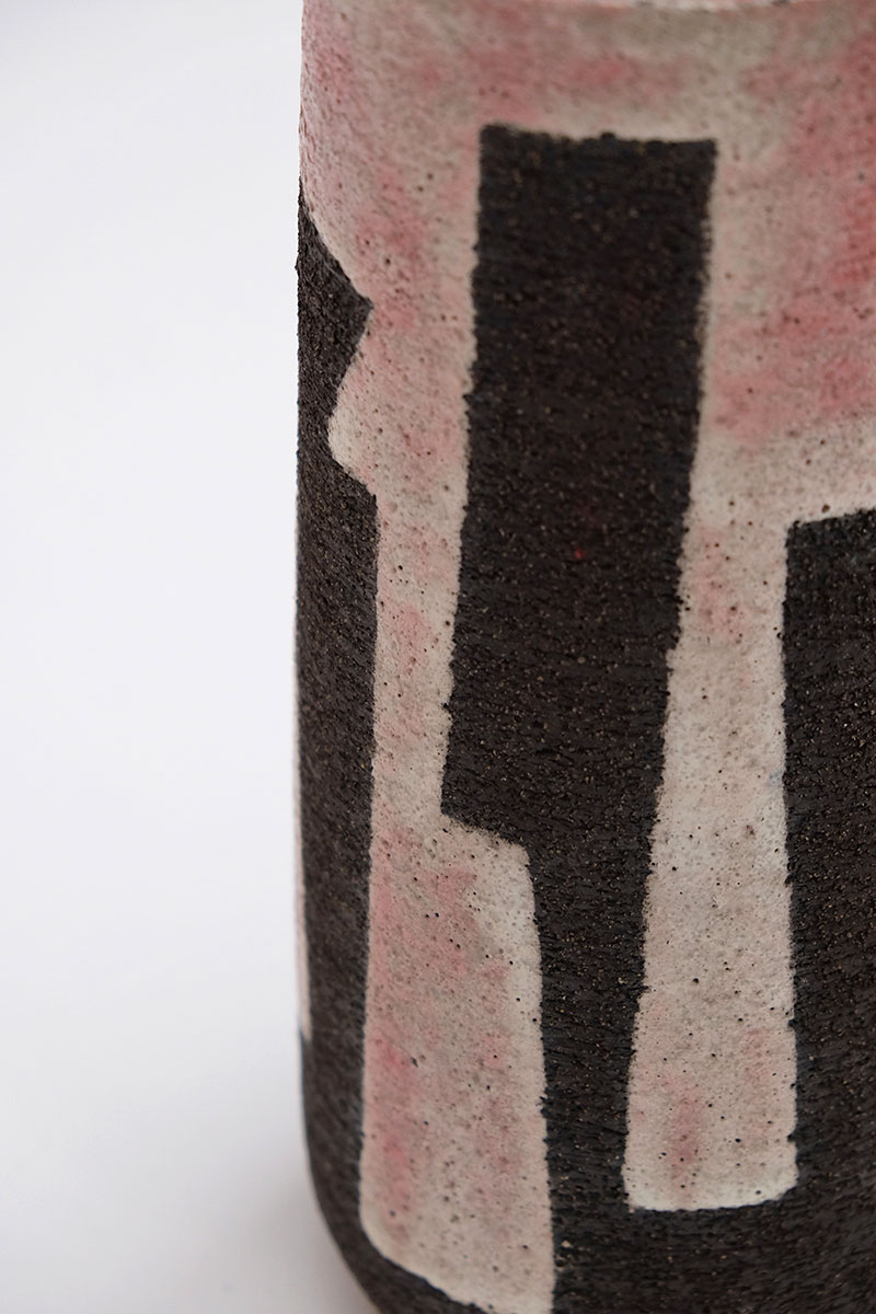 Modernist Stoneware Vase from the Zaalberg Atelier image 6