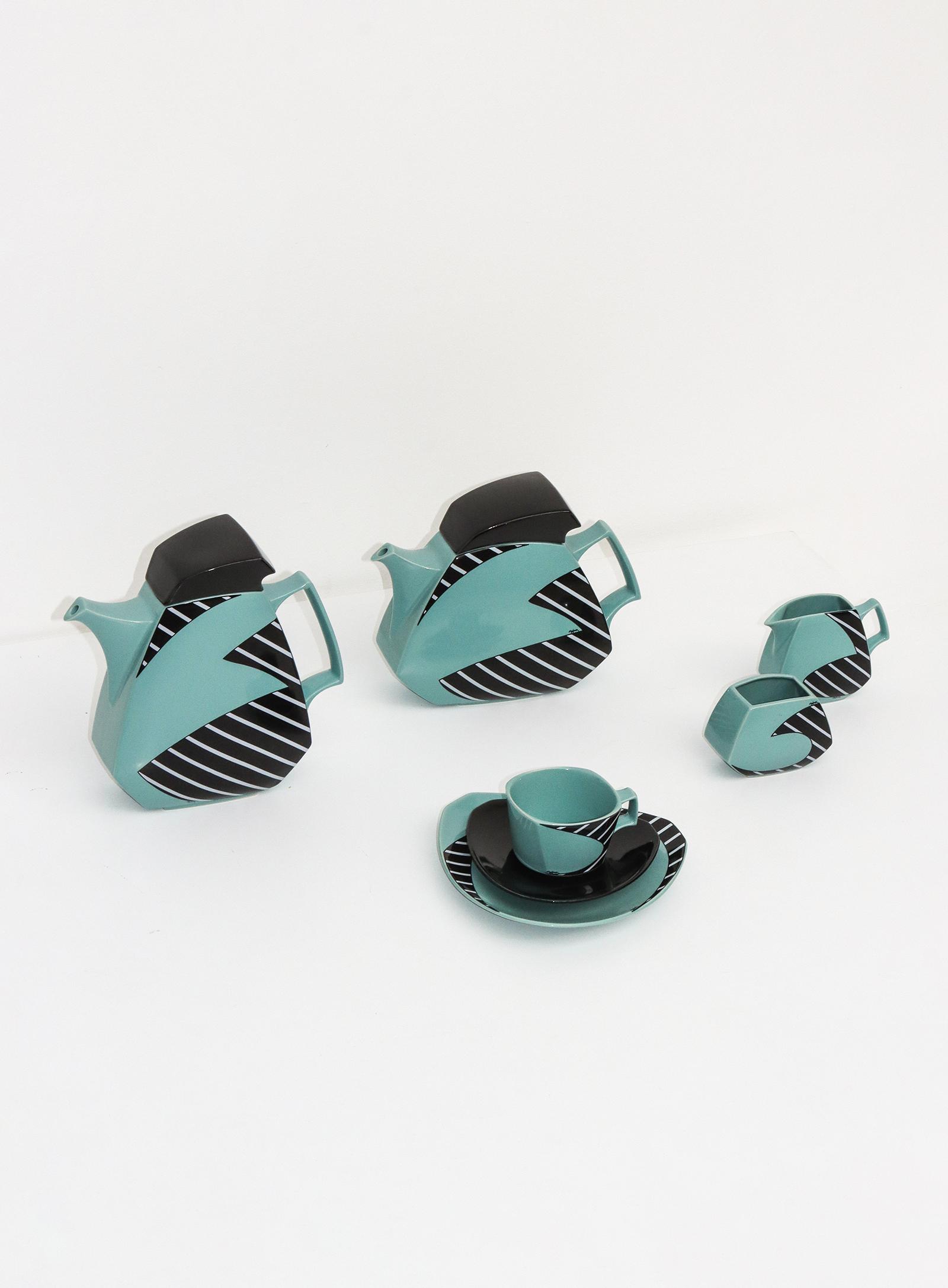 Flash Coffee and tea set by Dorothy Hafner for Rosenthalimage 1