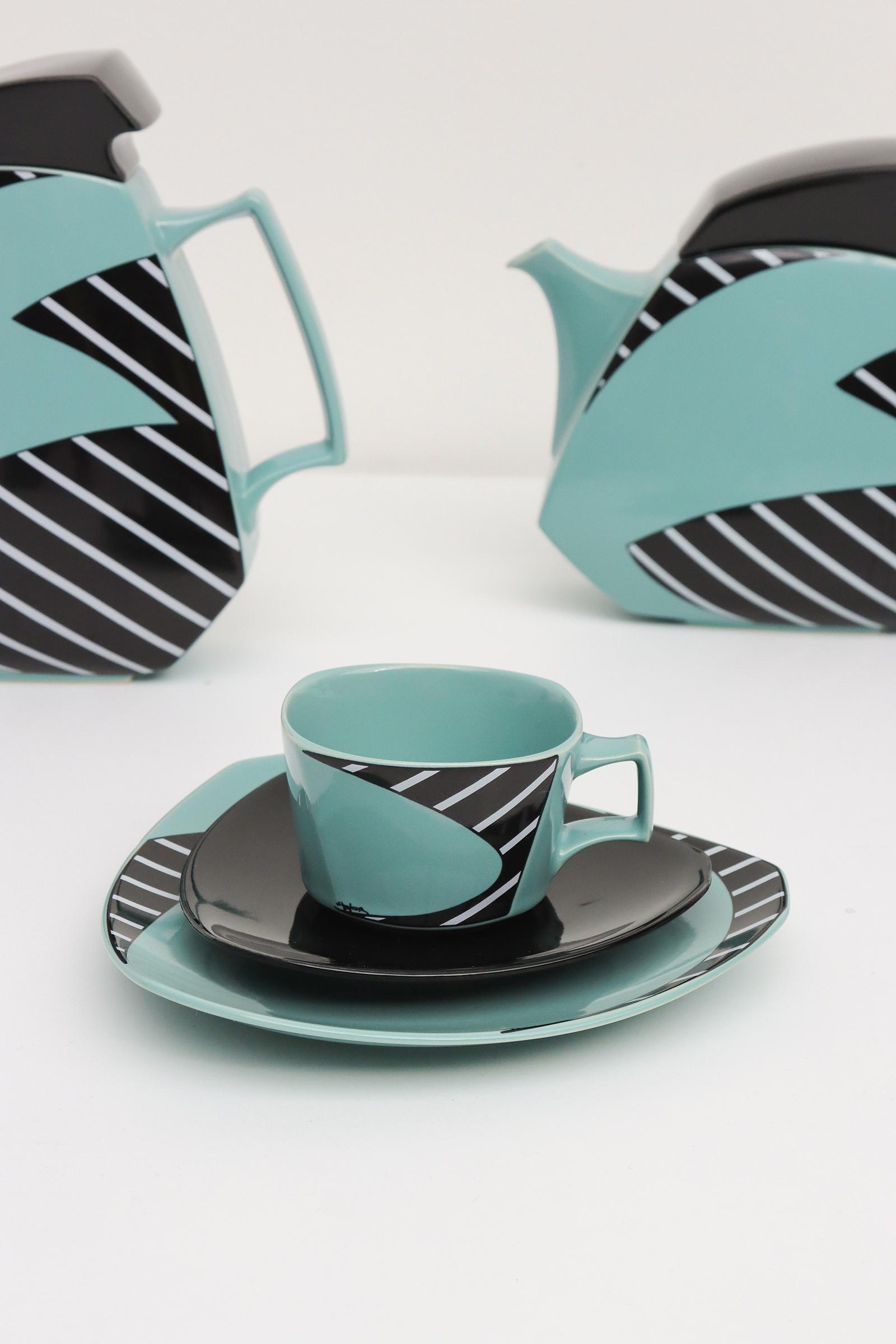 Flash Coffee and tea set by Dorothy Hafner for Rosenthalimage 5