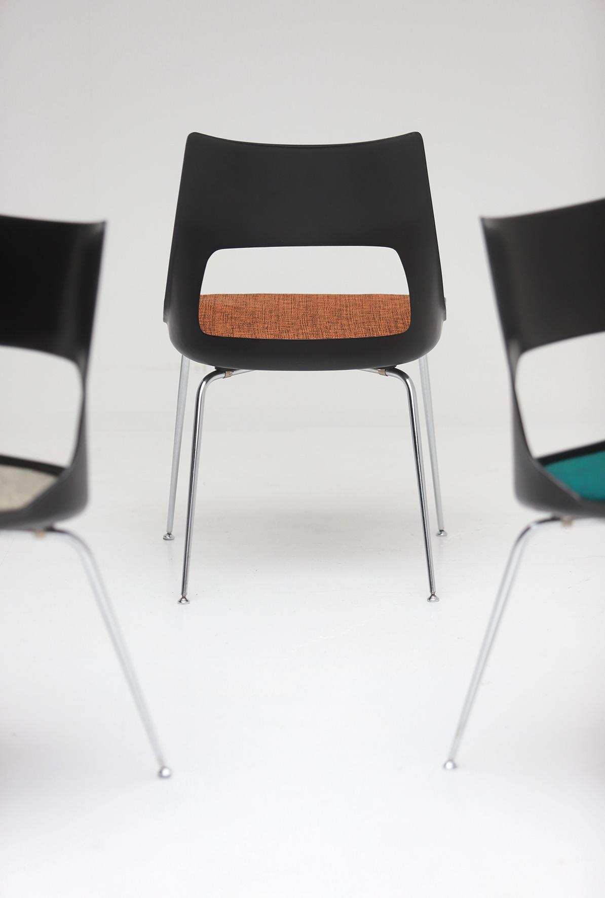 Set of three Modern Kay Korbing chairs for Fibrex Danmarkimage 2