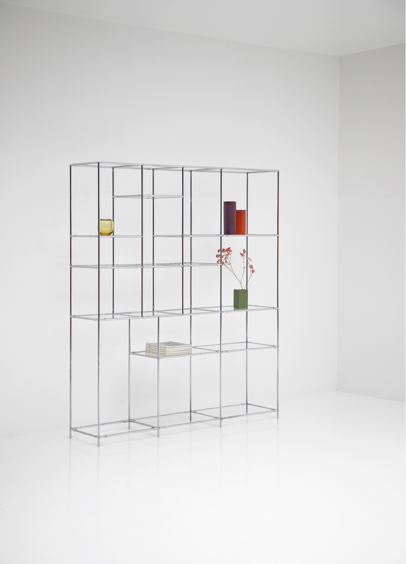 Poul Cadovius Chrome Chrome Shelf Unitimage 2