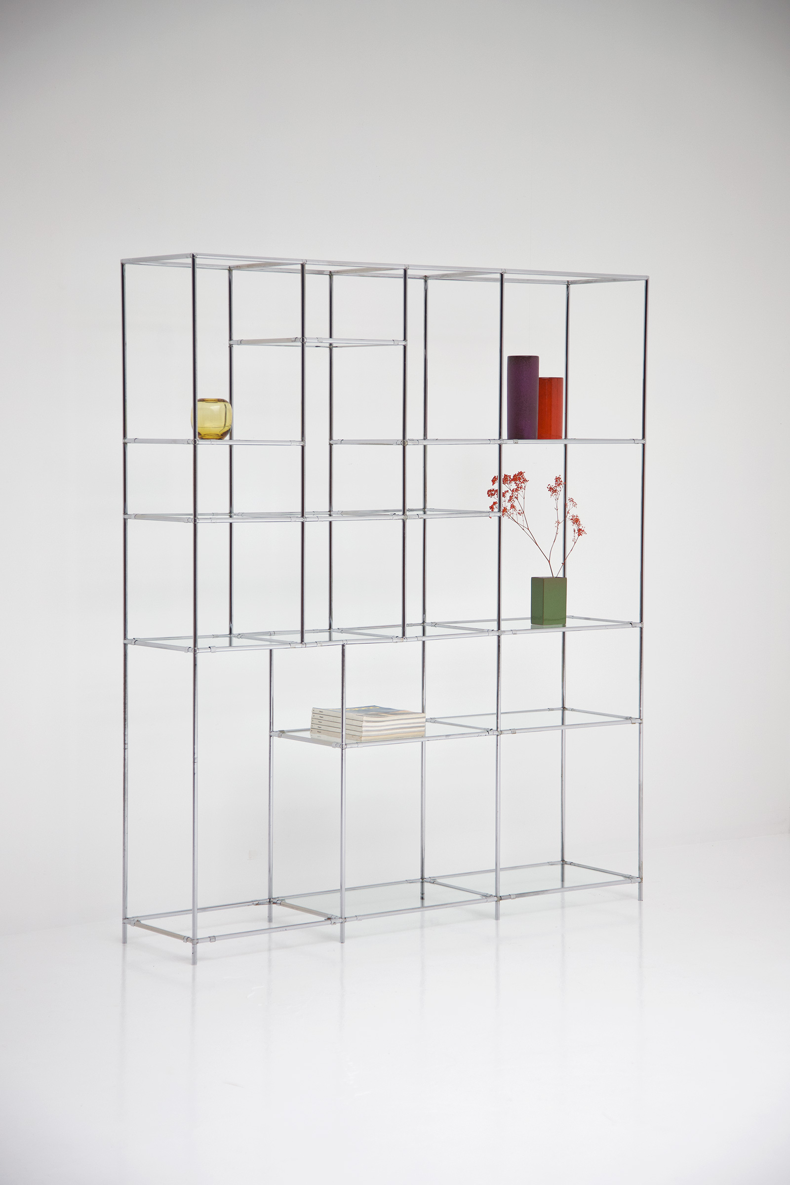 Poul Cadovius Chrome Chrome Shelf Unitimage 3