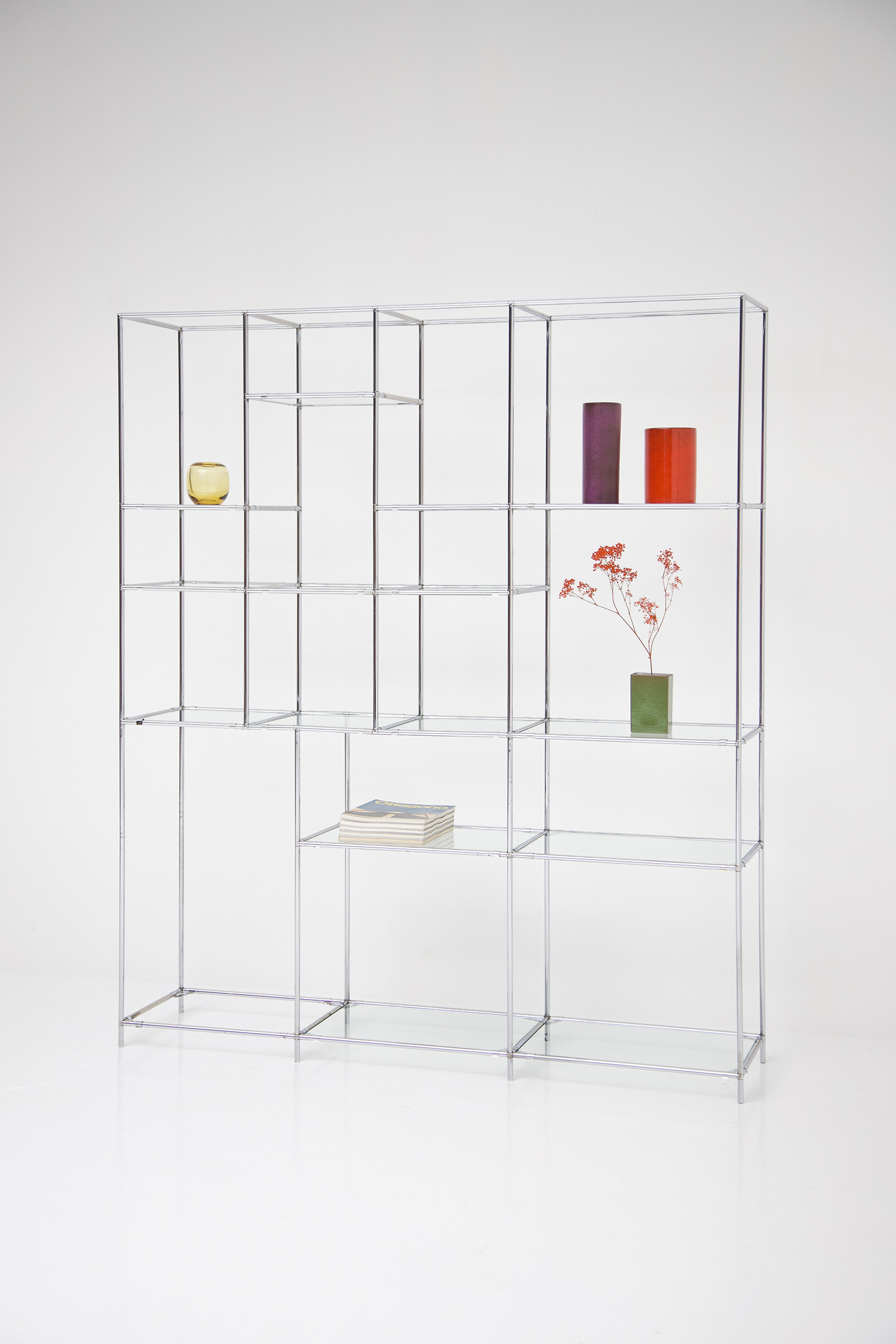 Poul Cadovius Chrome Chrome Shelf Unitimage 6