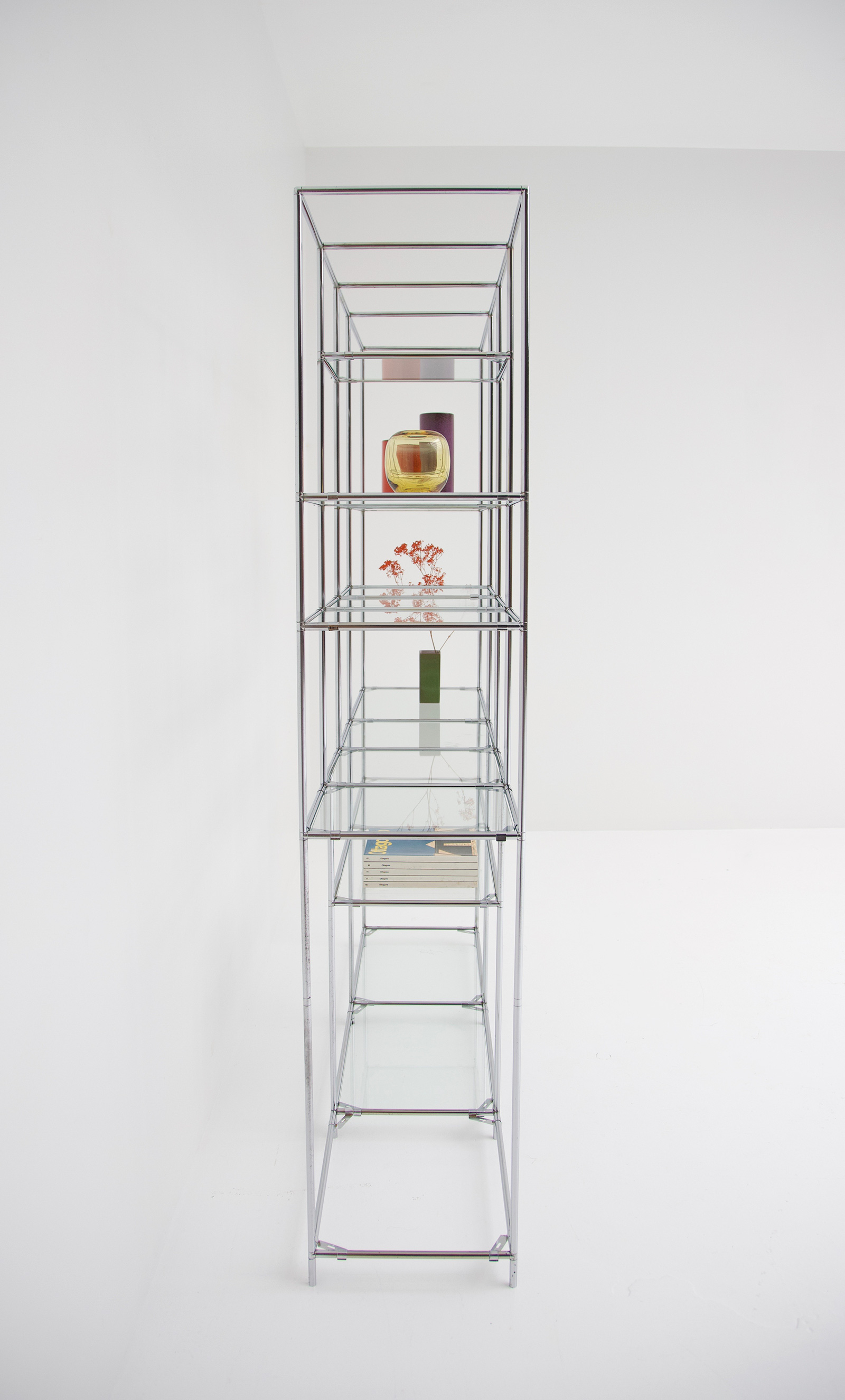 Poul Cadovius Chrome Chrome Shelf Unitimage 9