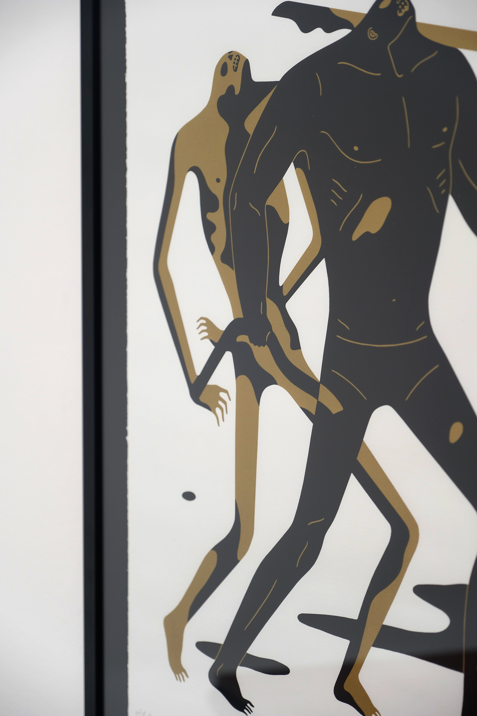 Cleon Peterson Silk Screen Print