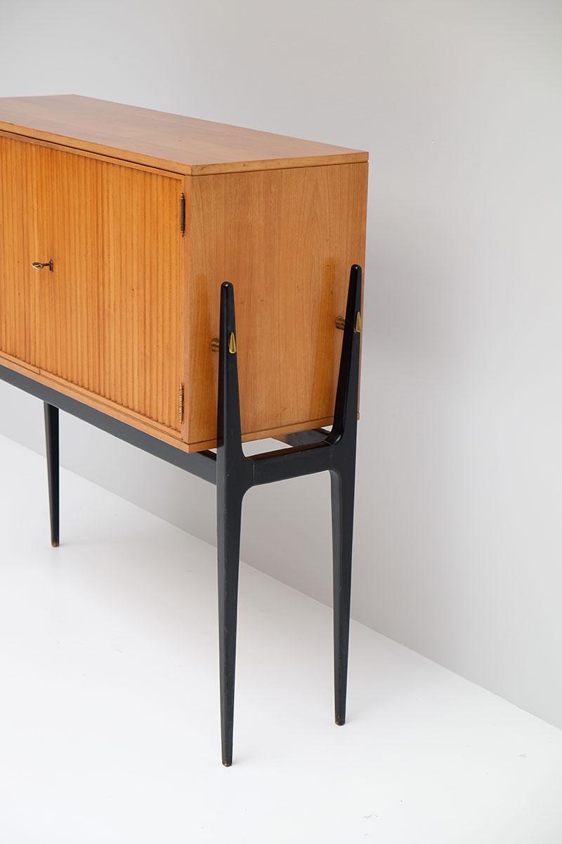 1950s elegant cocktail cabinet