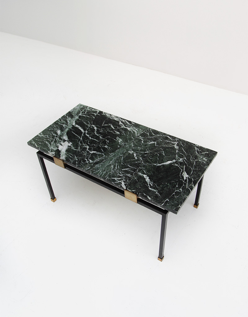 1950s coffee table green marbleimage 4