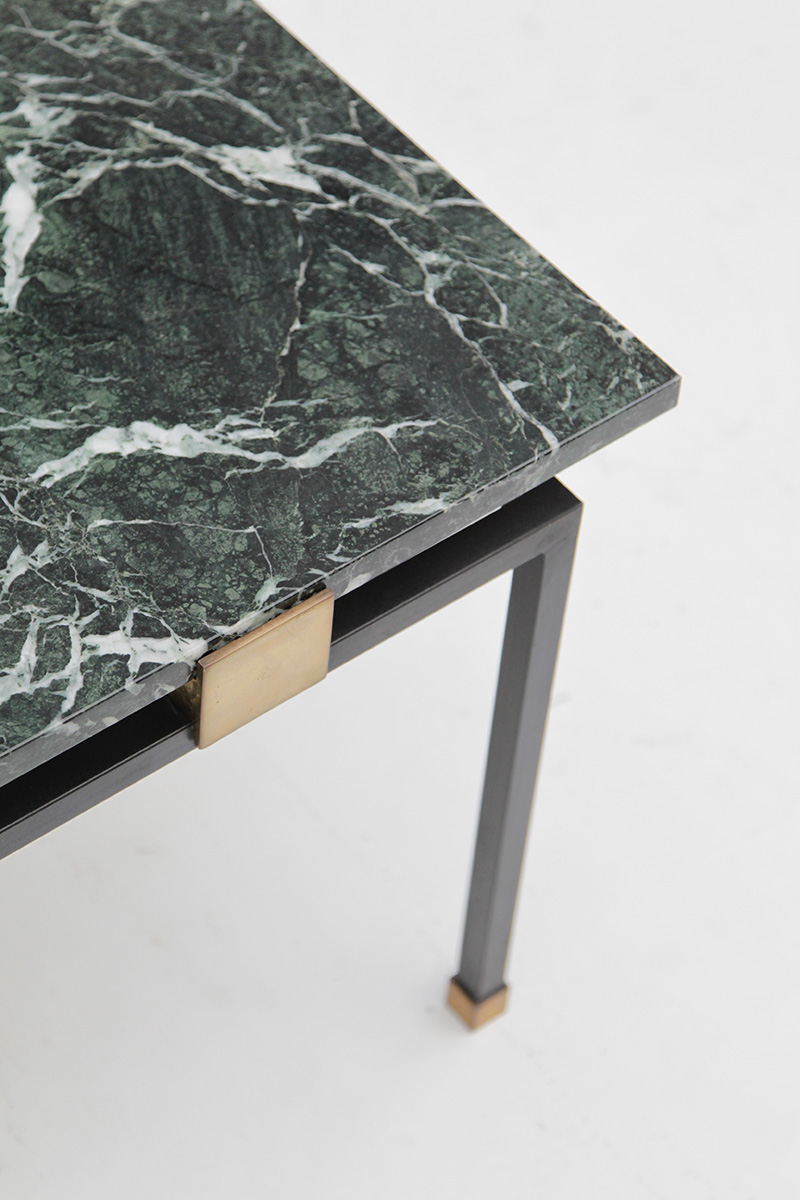1950s coffee table green marbleimage 6