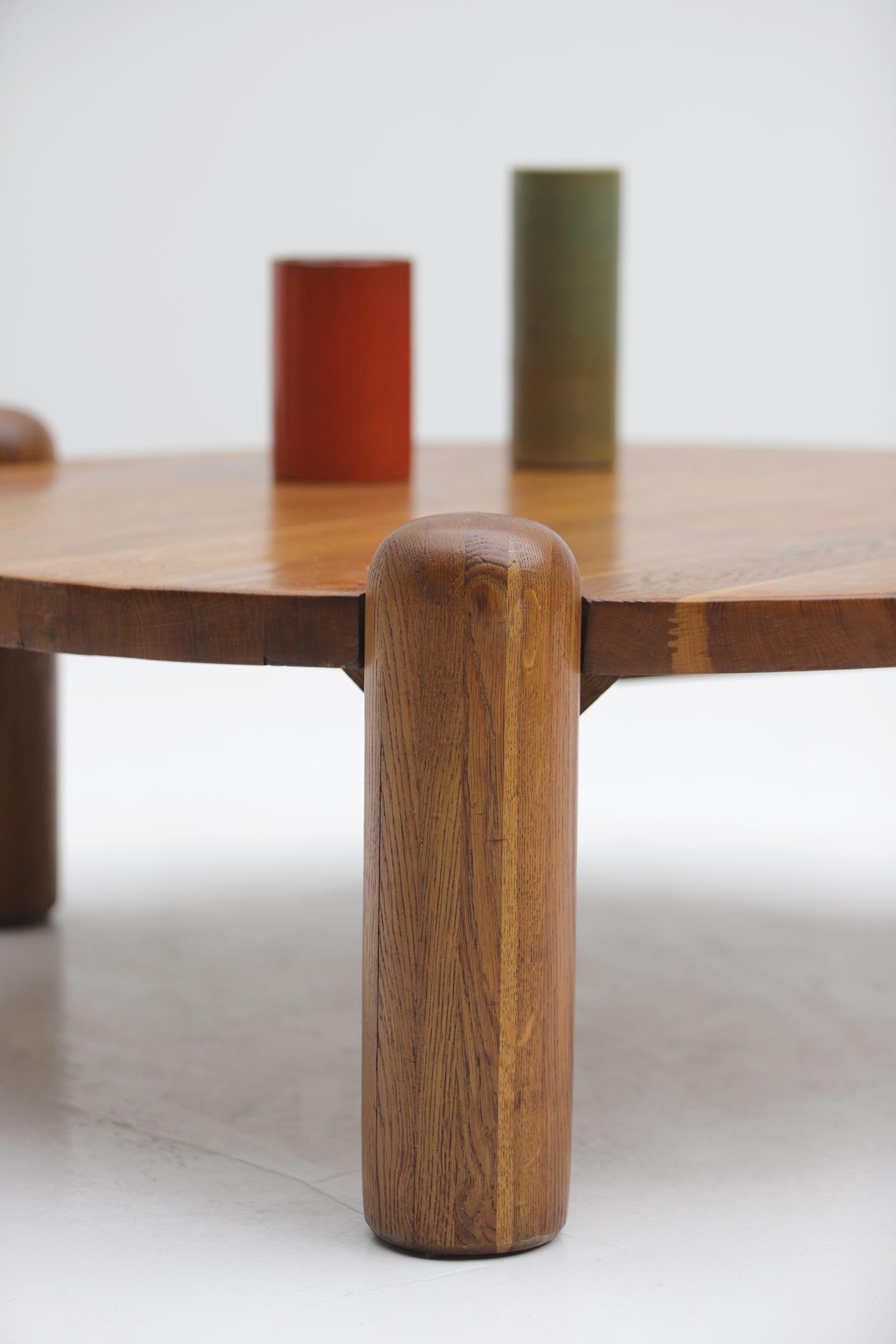 1960s oak Coffee Table image 3