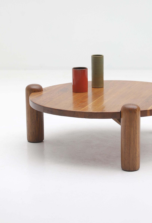 1960s oak Coffee Table image 2
