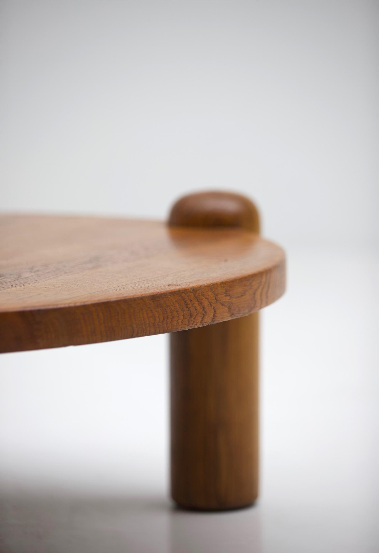 1960s oak Coffee Table image 5