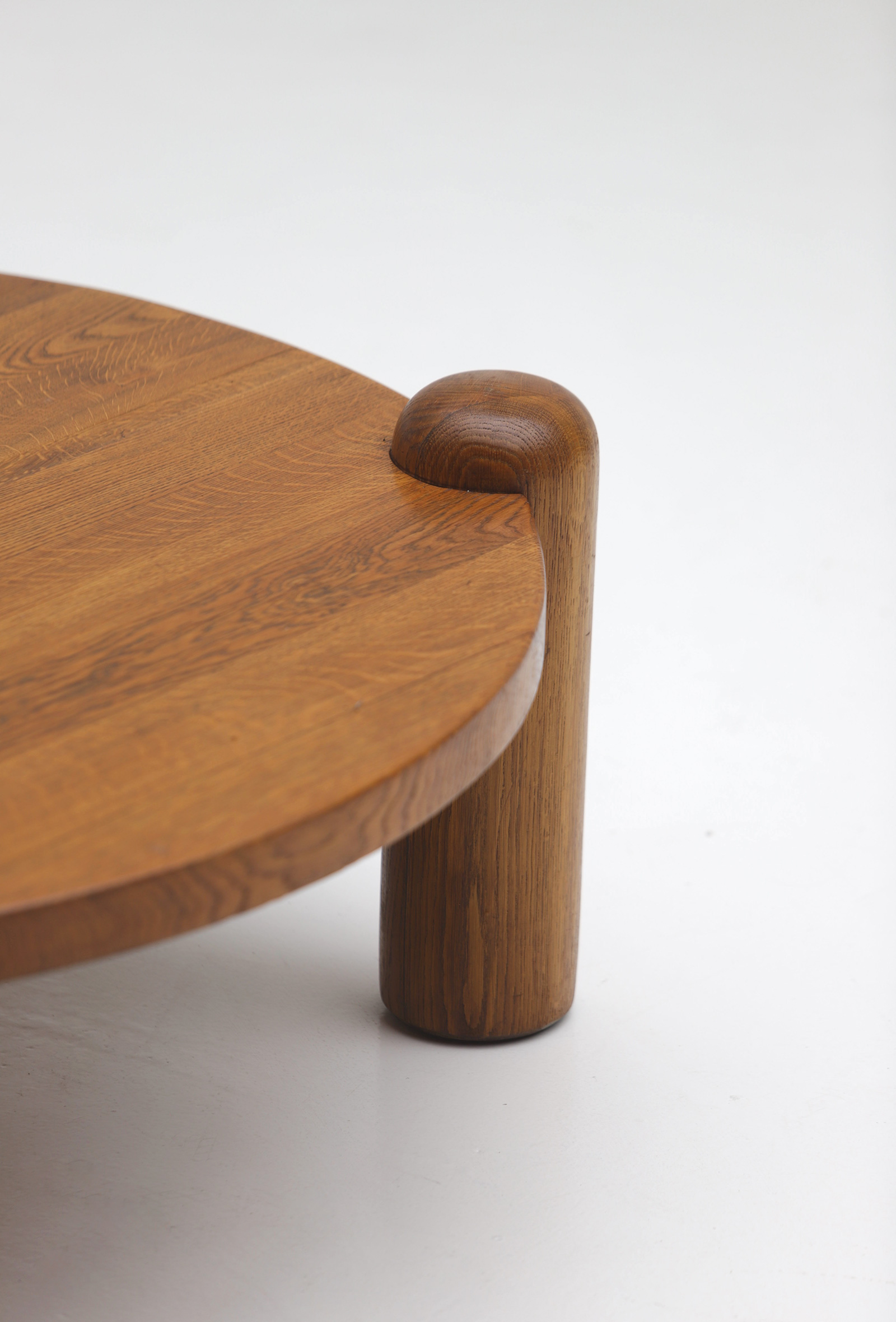 1960s oak Coffee Table image 4