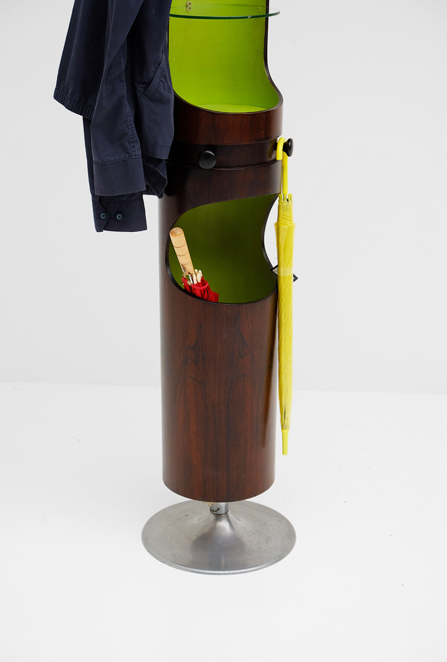 1960s Totem shaped coat stand