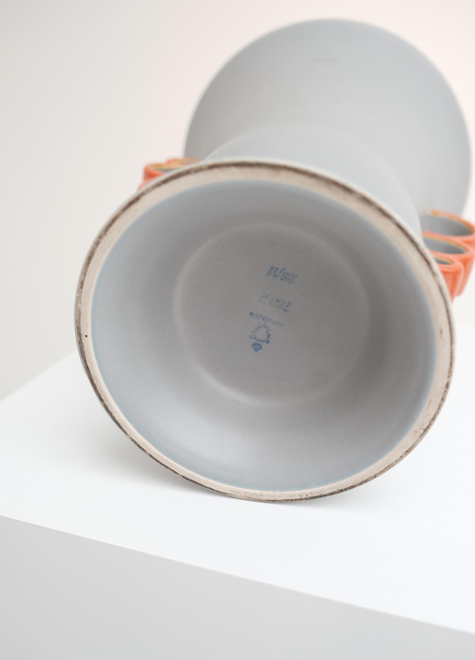 Czechoslovakia Vase Lamp Vase