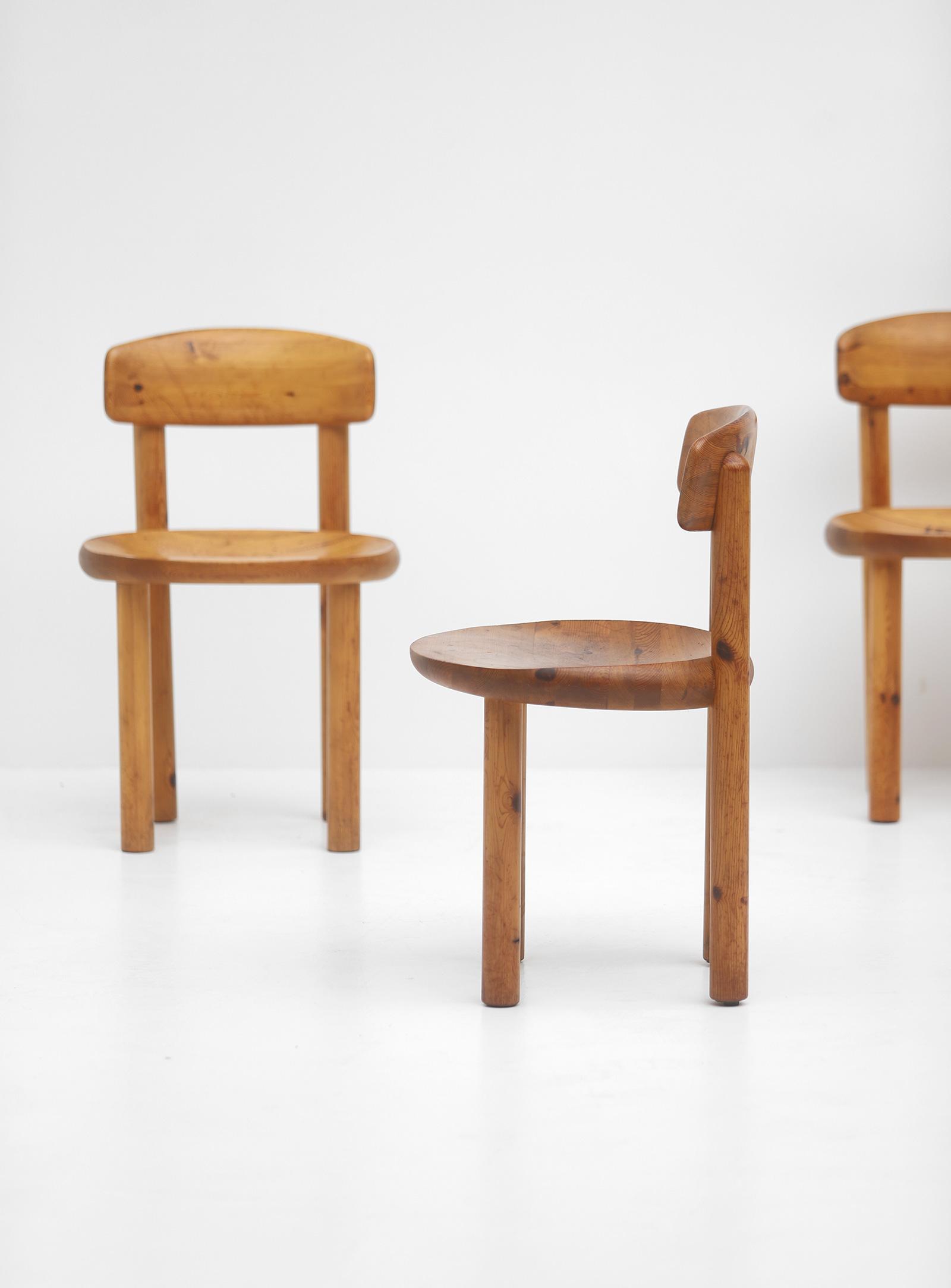 5 Daumiller Pinewood Chairsimage 2