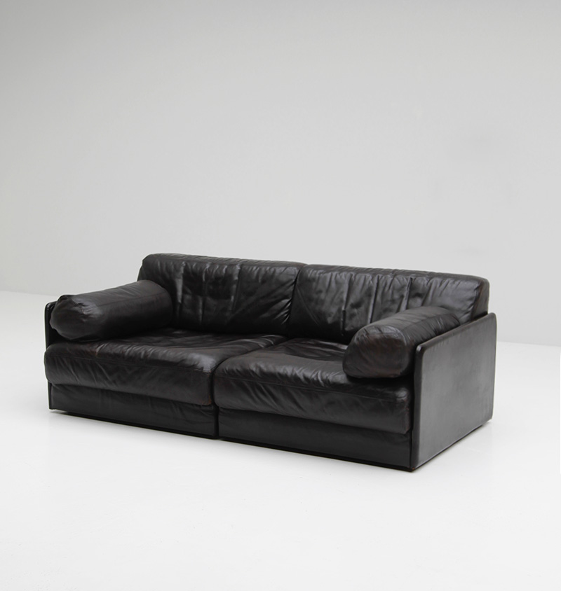 city furniture de sede ds 76 two seat sofa. Black Bedroom Furniture Sets. Home Design Ideas