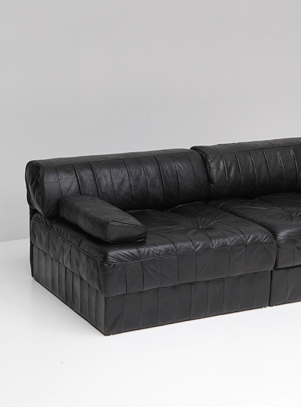 Leather Sofa by De Sede