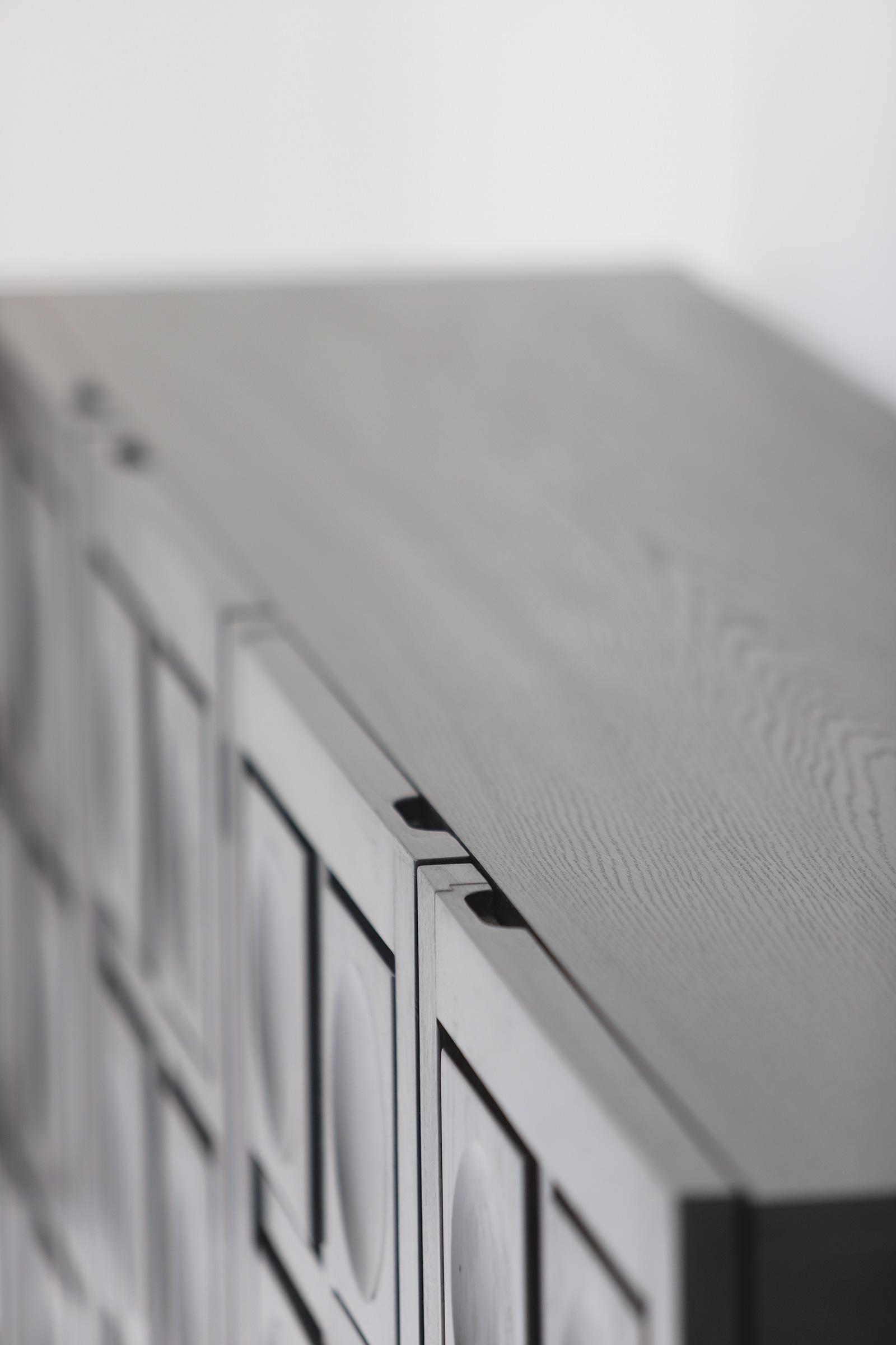 Defour 4 door graphic doors Sideboardimage 8