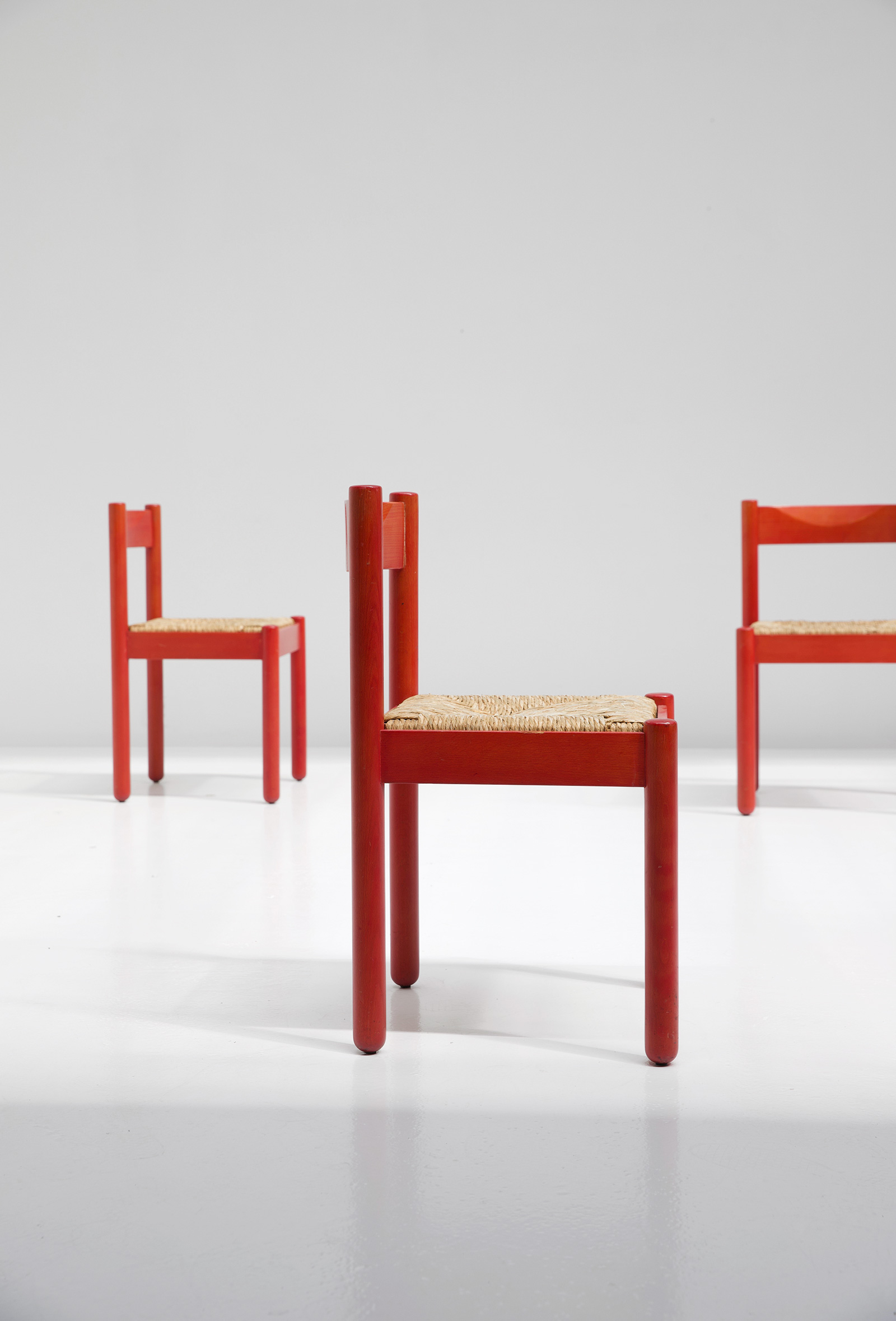 Carimate Chairs by Vico Magistretti for Cassina