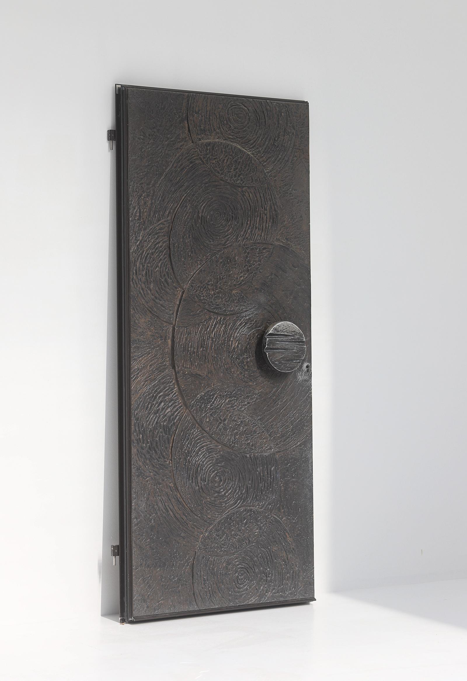 Brutalist Front Door 1970simage 1