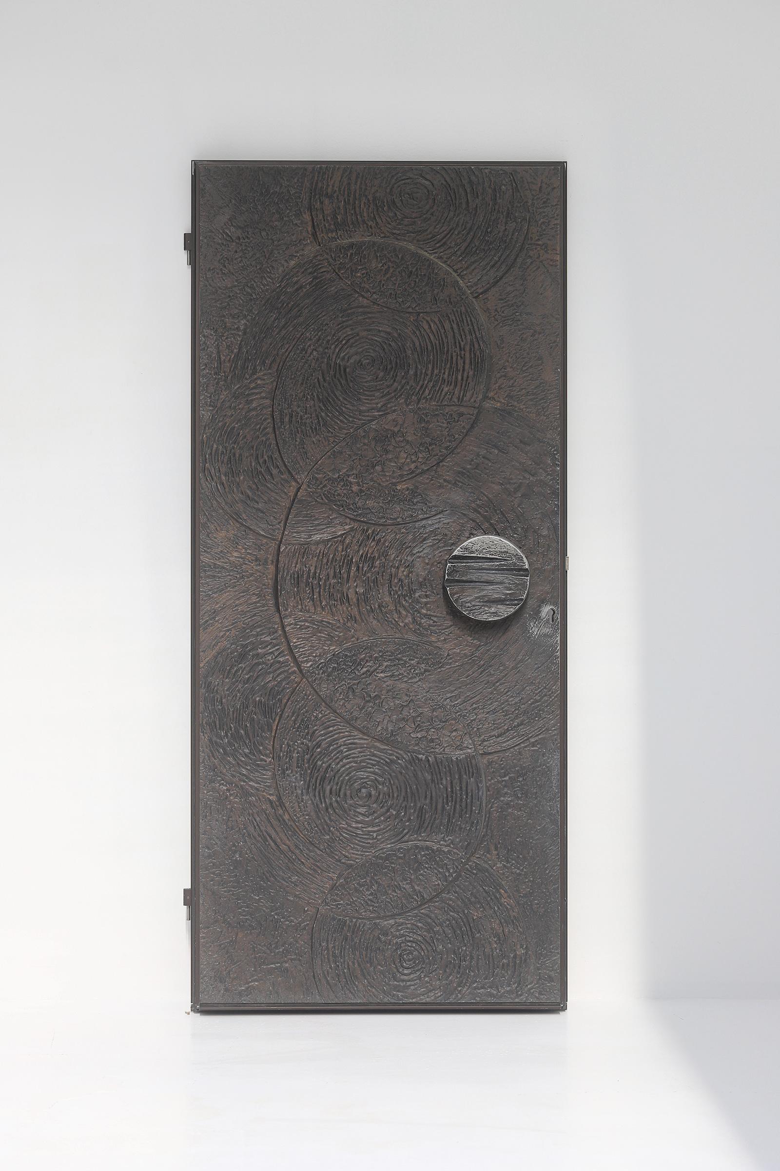 Brutalist Front Door 1970simage 3