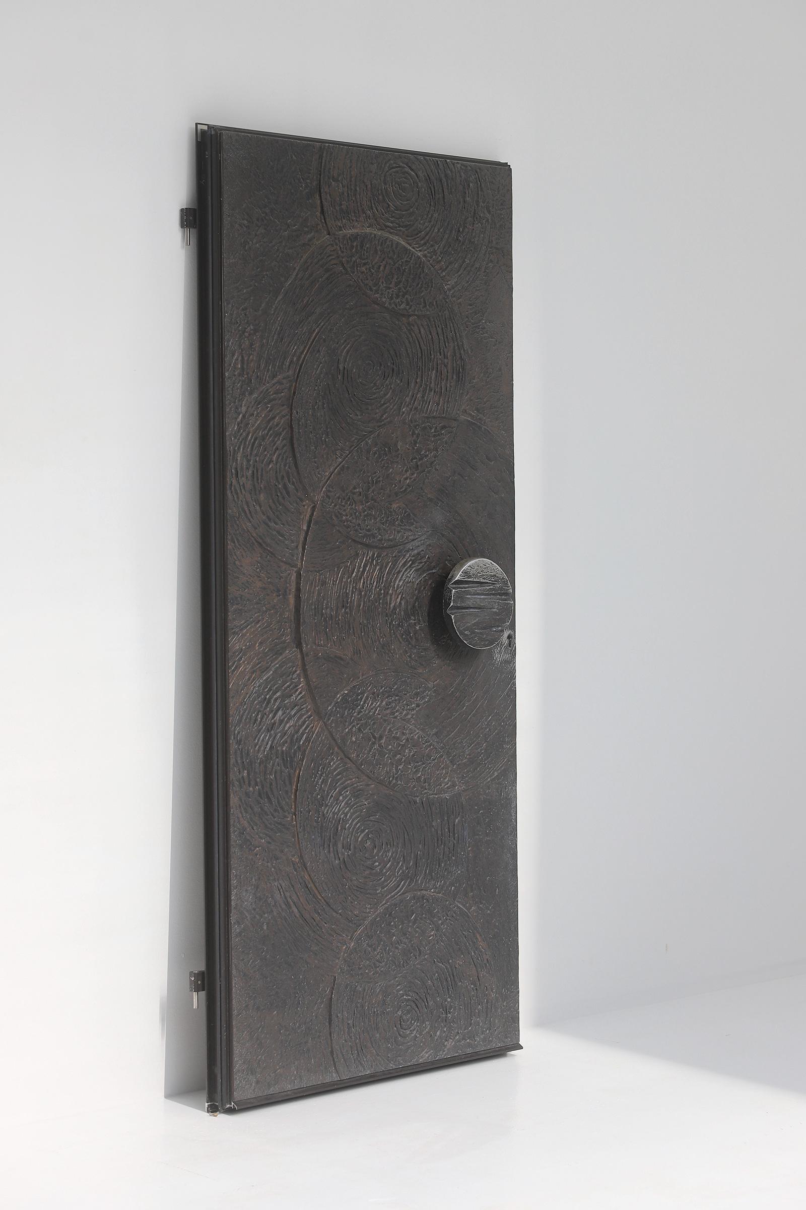 Brutalist Front Door 1970simage 5