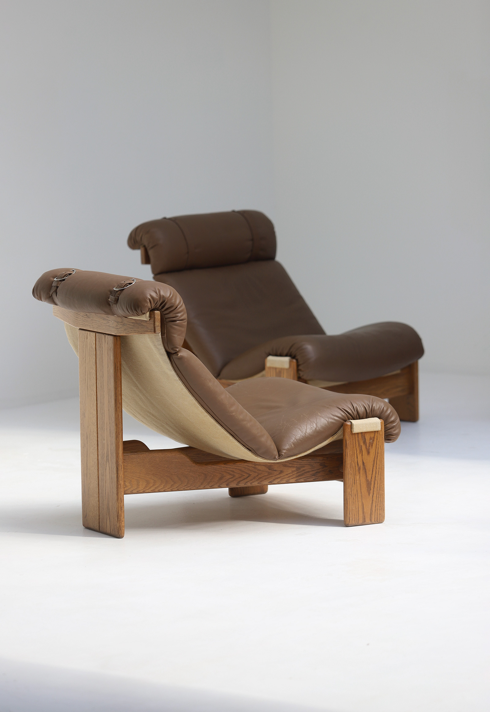 Set of 5 sling chairs 1970simage 3