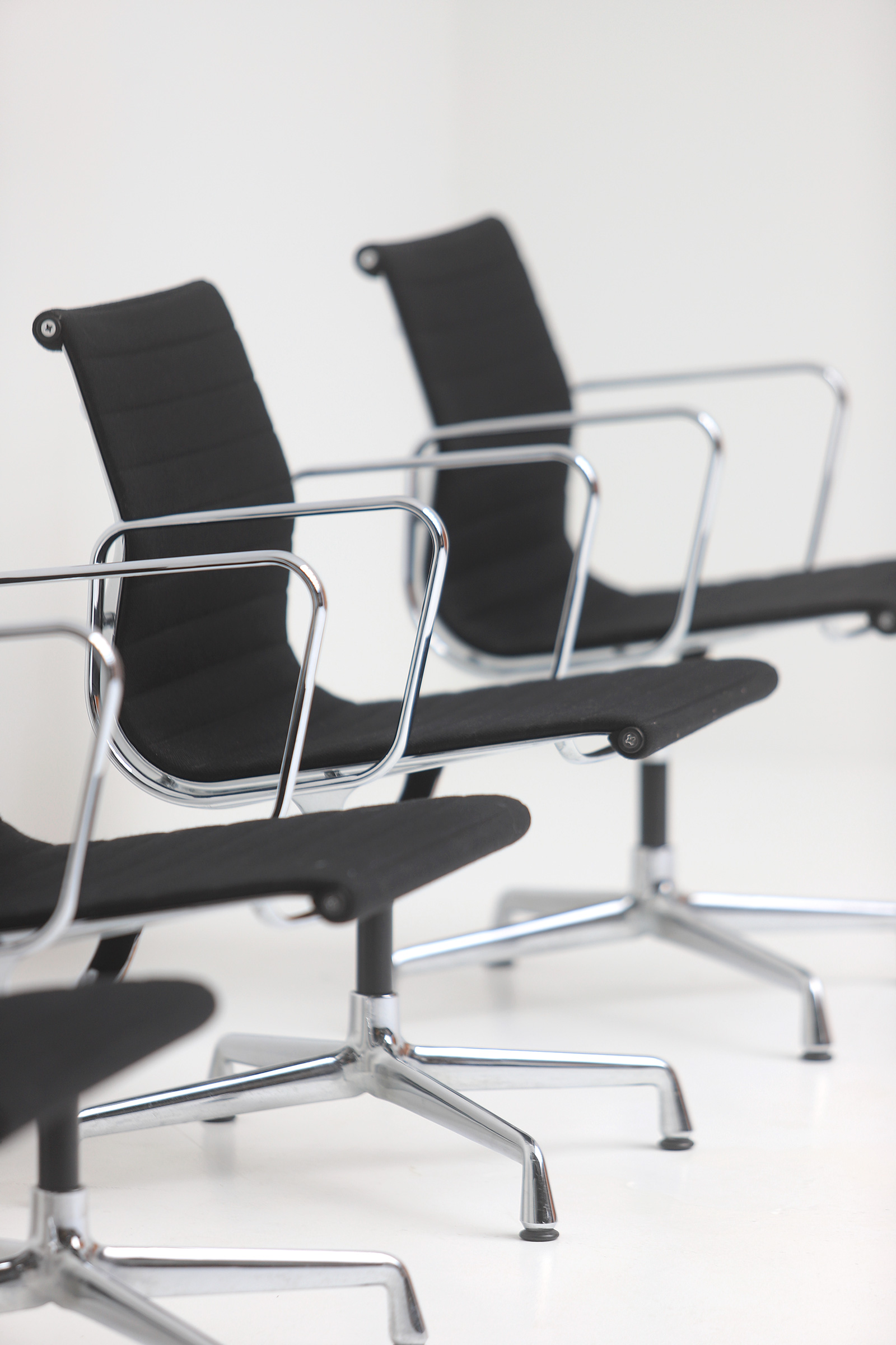 Set of Eames office chairs EA108image 8