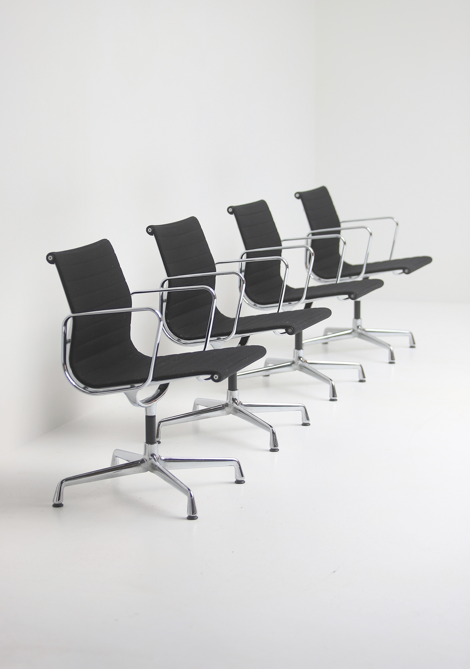 Set of Eames office chairs EA108image 4