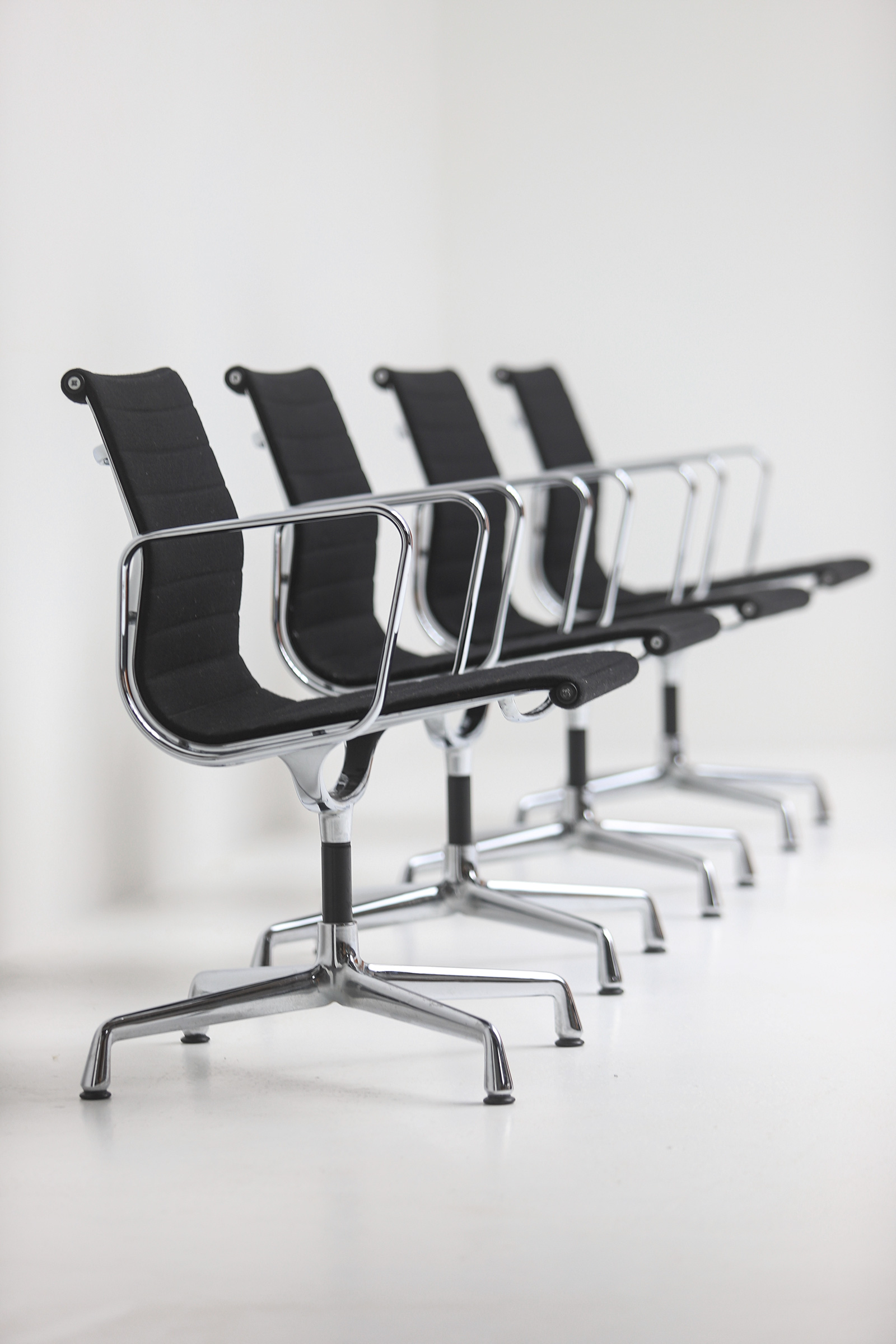 Set of Eames office chairs EA108image 5