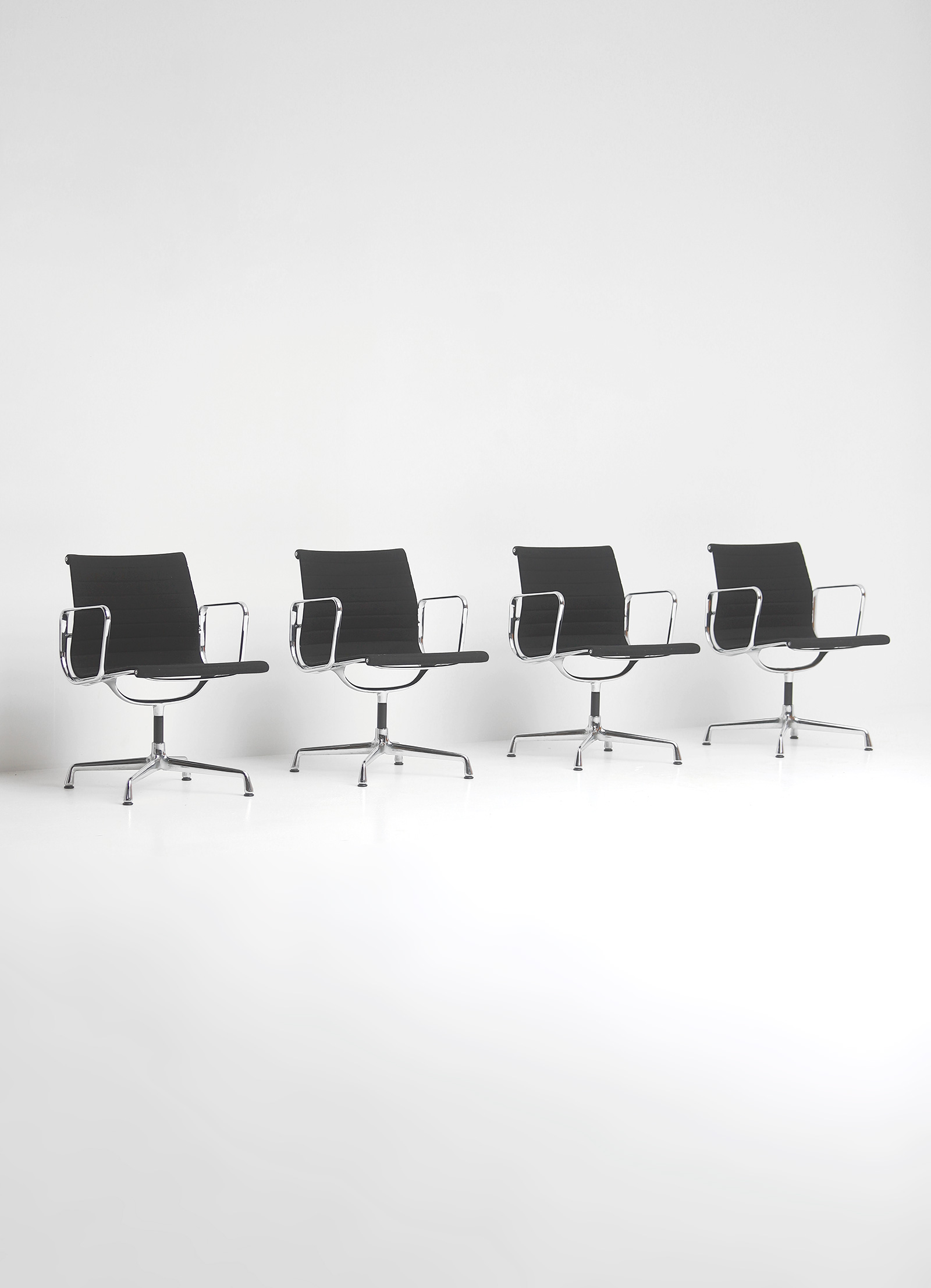 Set of Eames office chairs EA108image 1