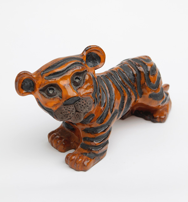 CERAMIC TIGER BY ELISABETH VANDEWEGHE