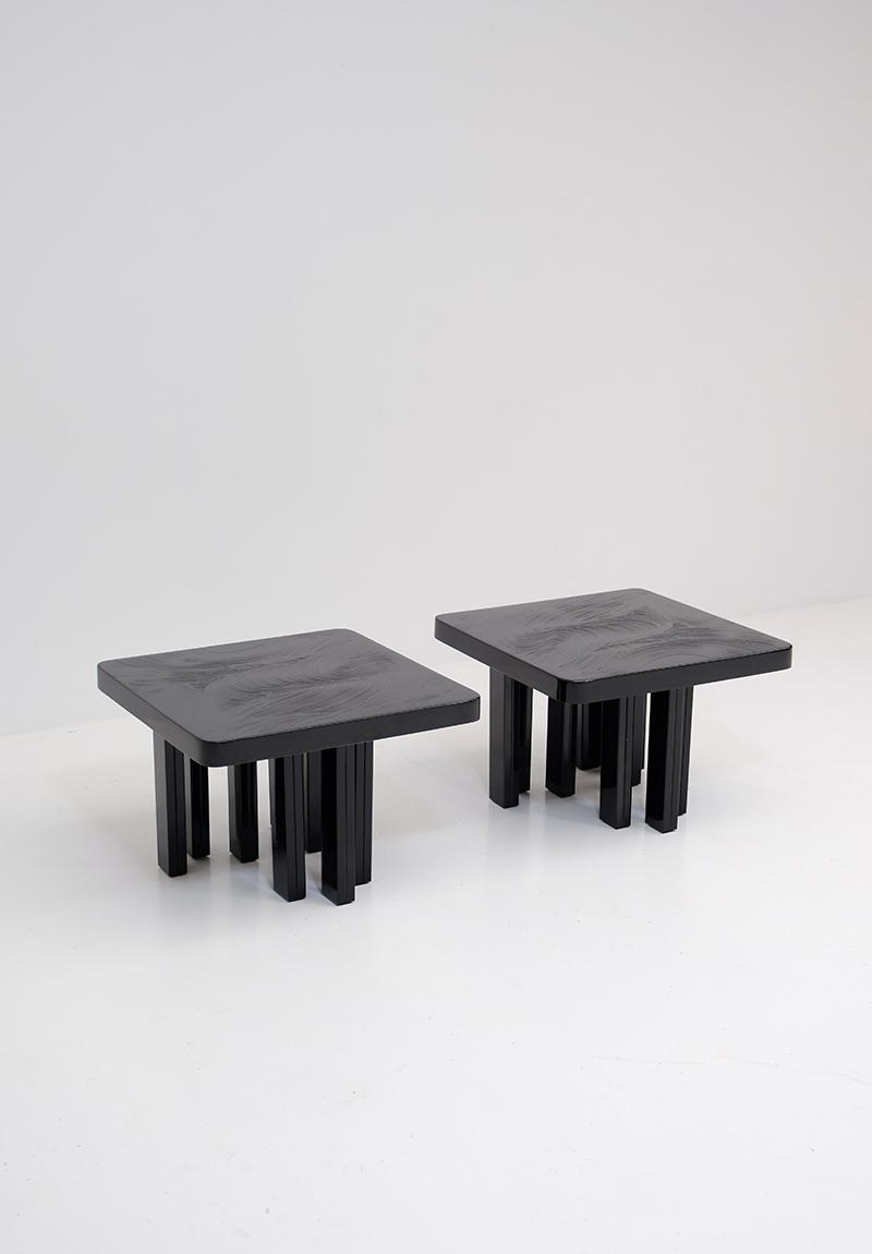 Fernand dresse side tables