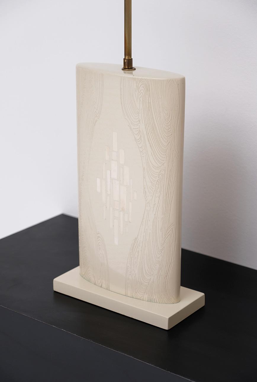 Pair of Fernand Dresse table lampsimage 3