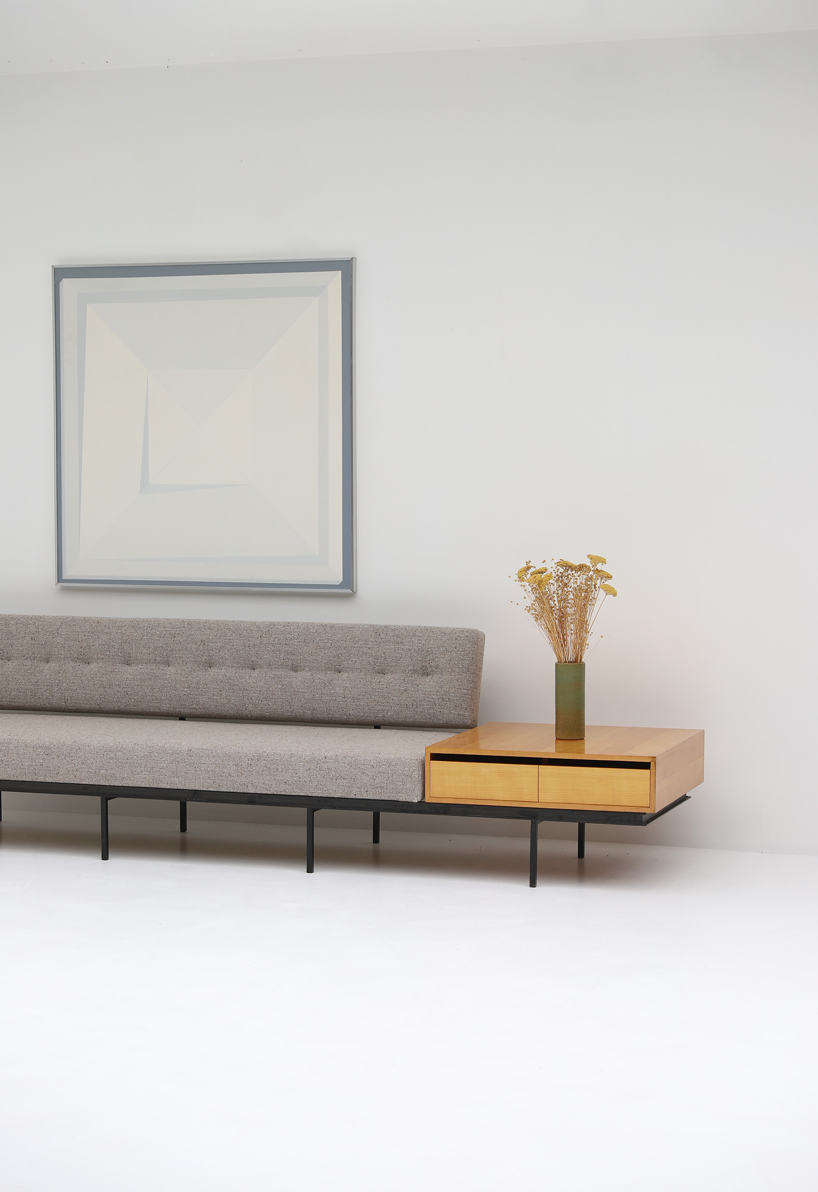 Florence Knoll Sofa & Cabinet image 3