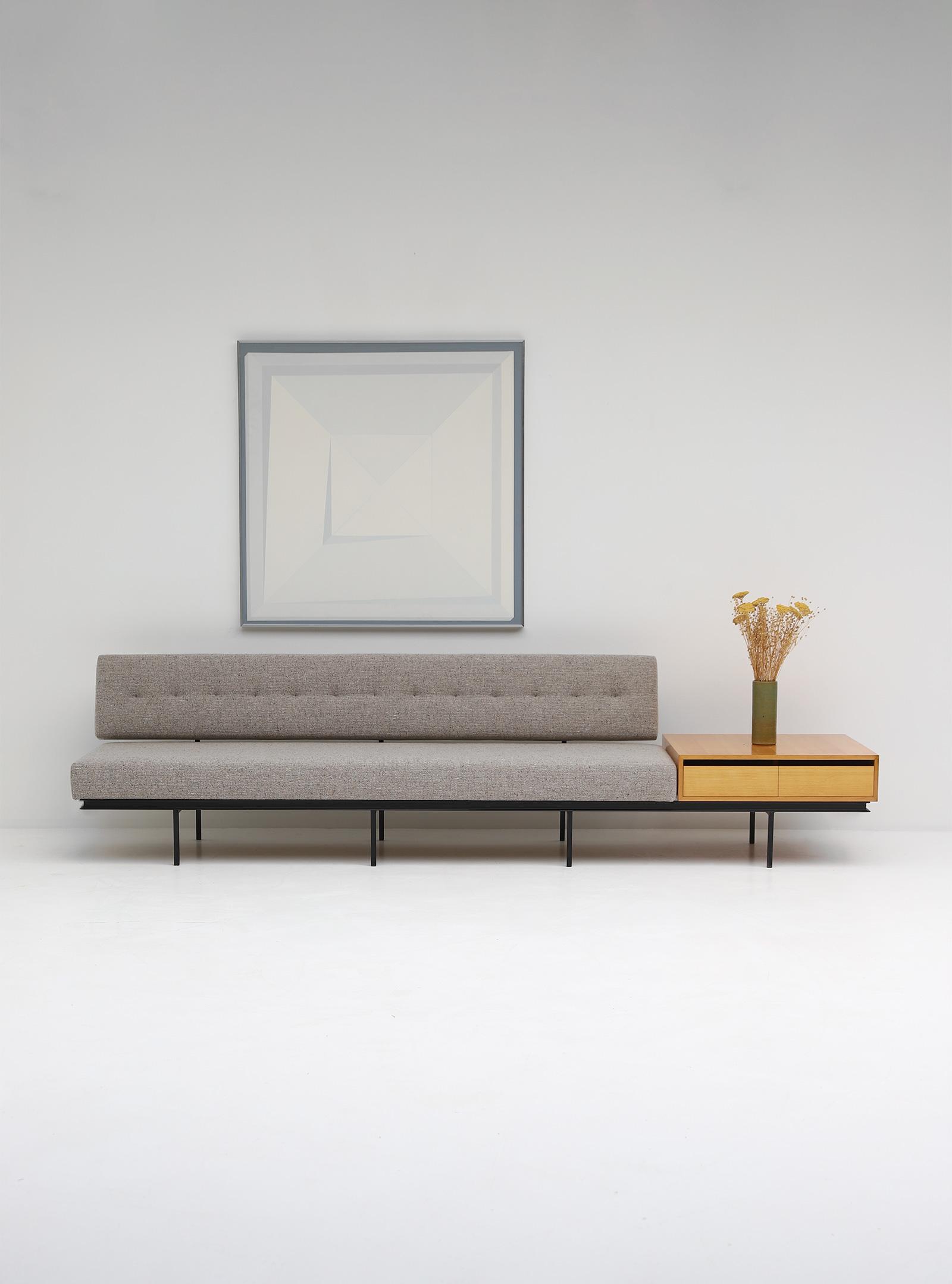 Florence Knoll Sofa & Cabinet image 1