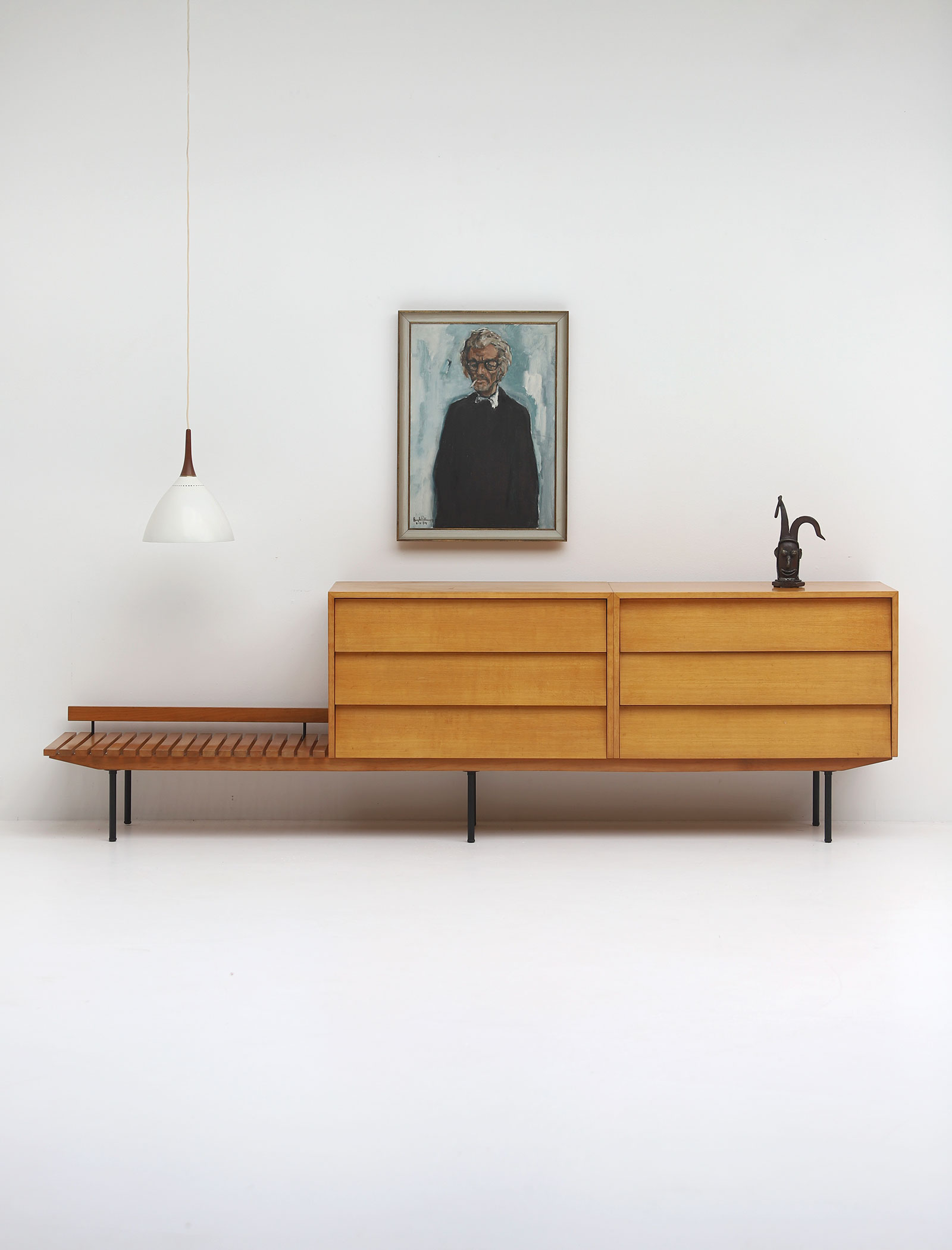 Florence Knoll dressing sideboard