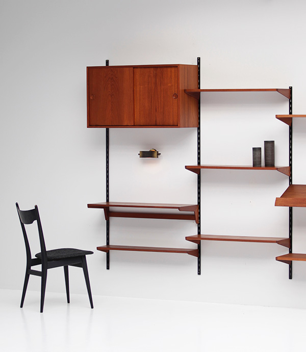 Teak Wall-unit by Kai Kristiansen