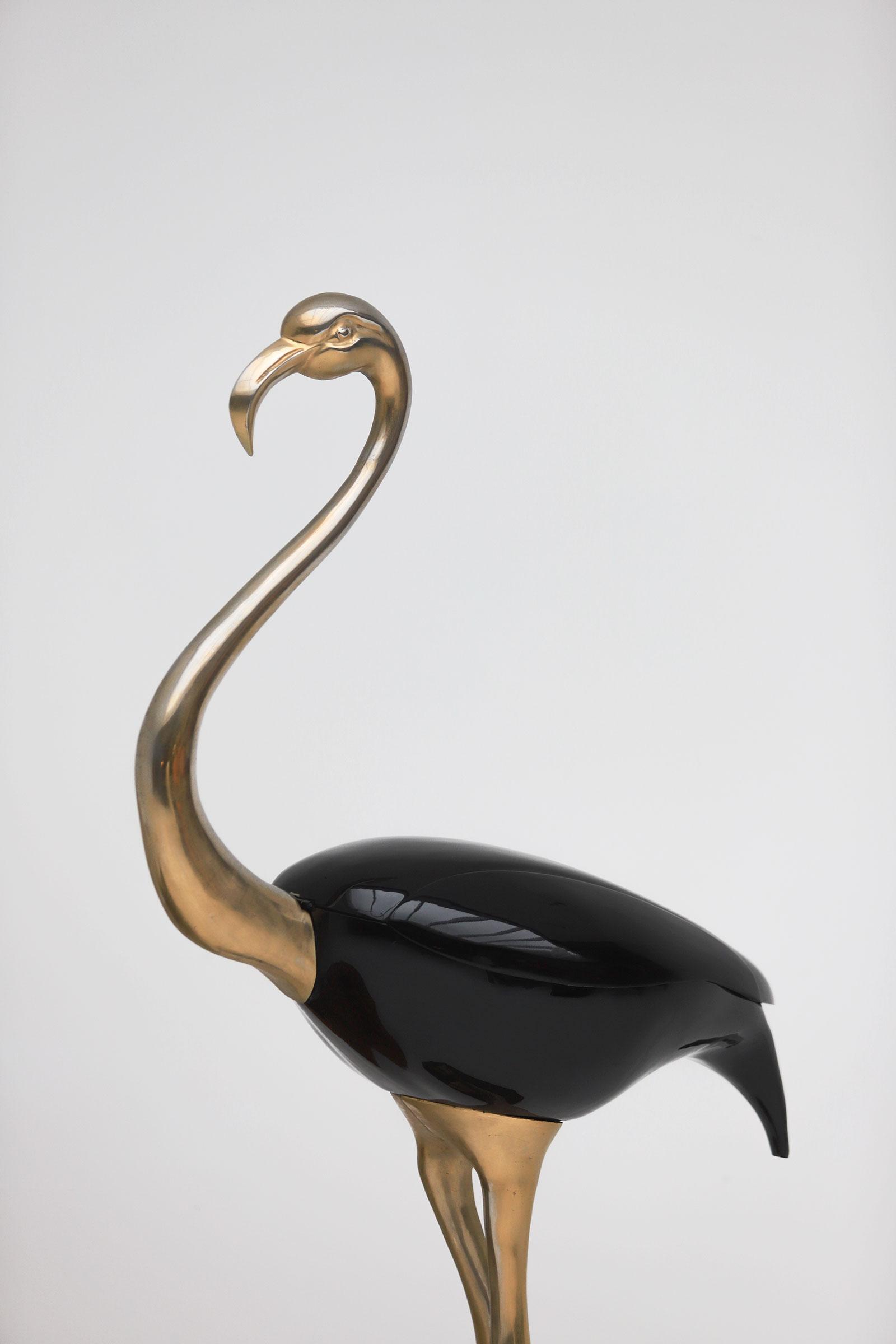 Fondica Lifesize Brass Flamingo 1970simage 16