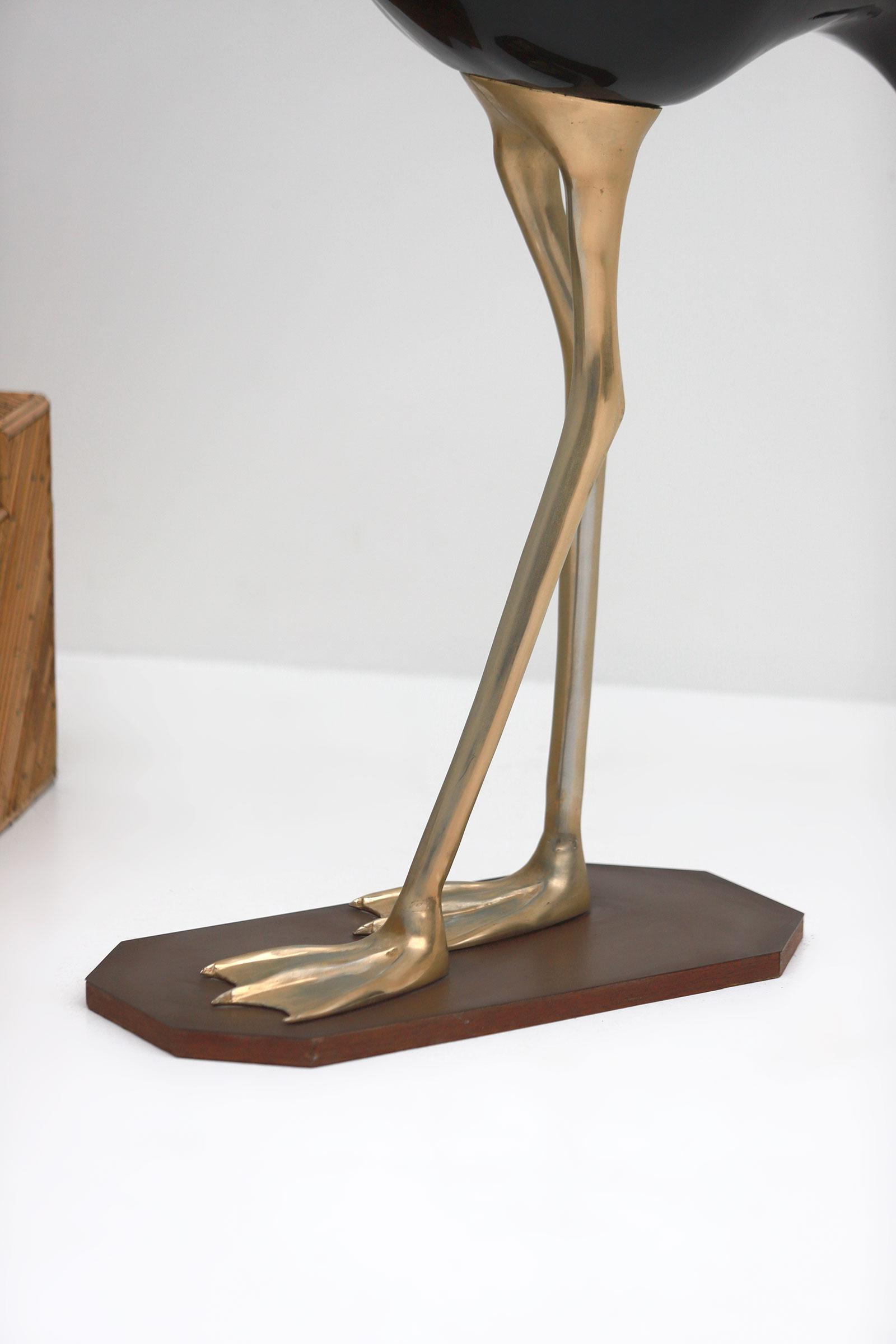 Fondica Lifesize Brass Flamingo 1970simage 15