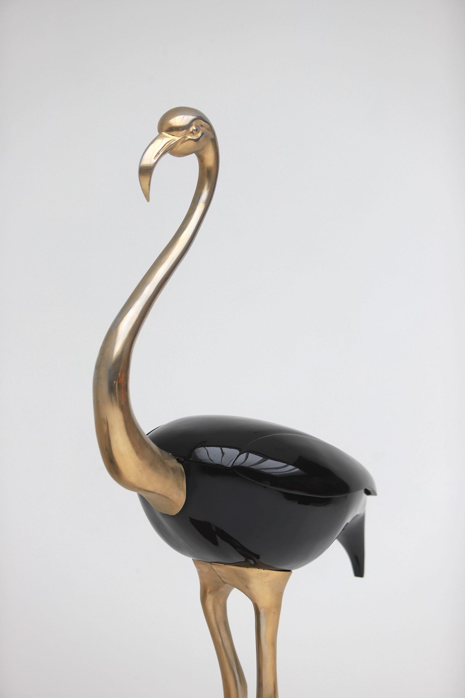 Fondica Lifesize Brass Flamingo 1970simage 12