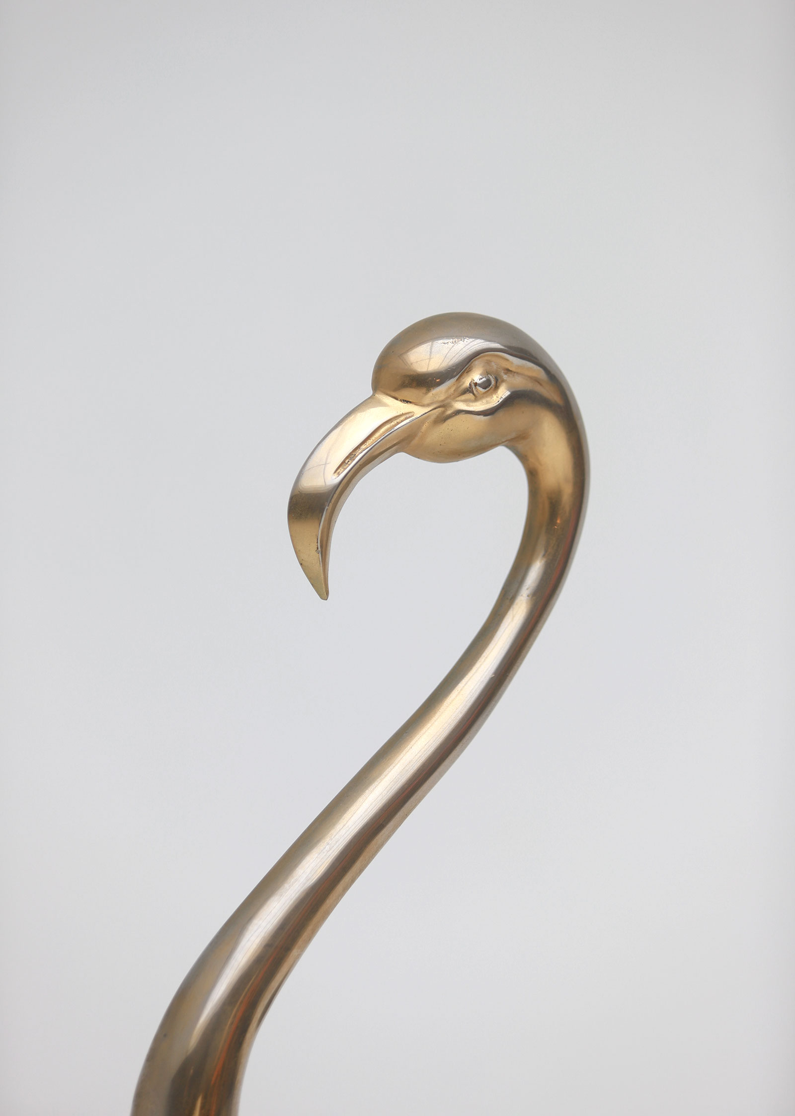 Fondica Lifesize Brass Flamingo 1970simage 11