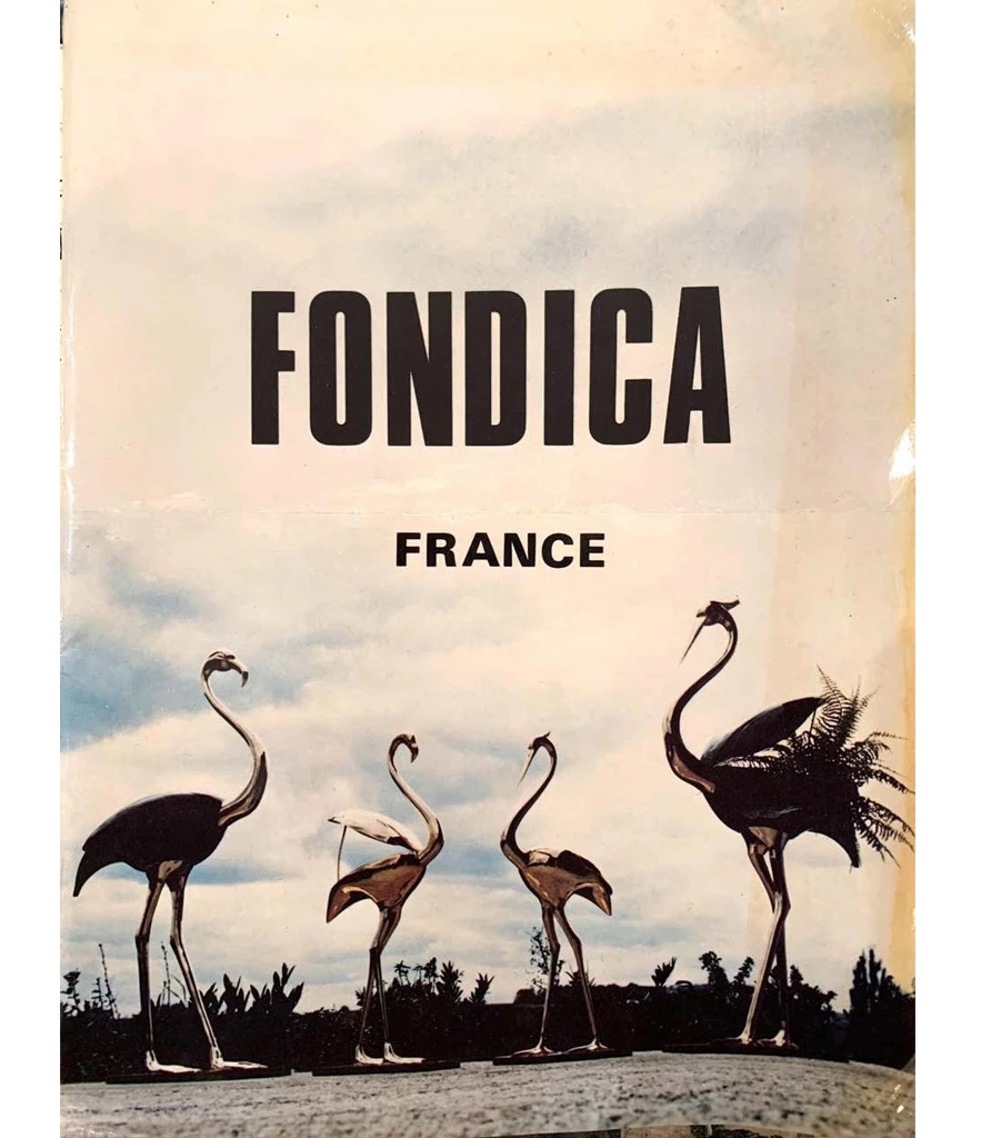 Fondica Lifesize Brass Flamingo 1970simage 7