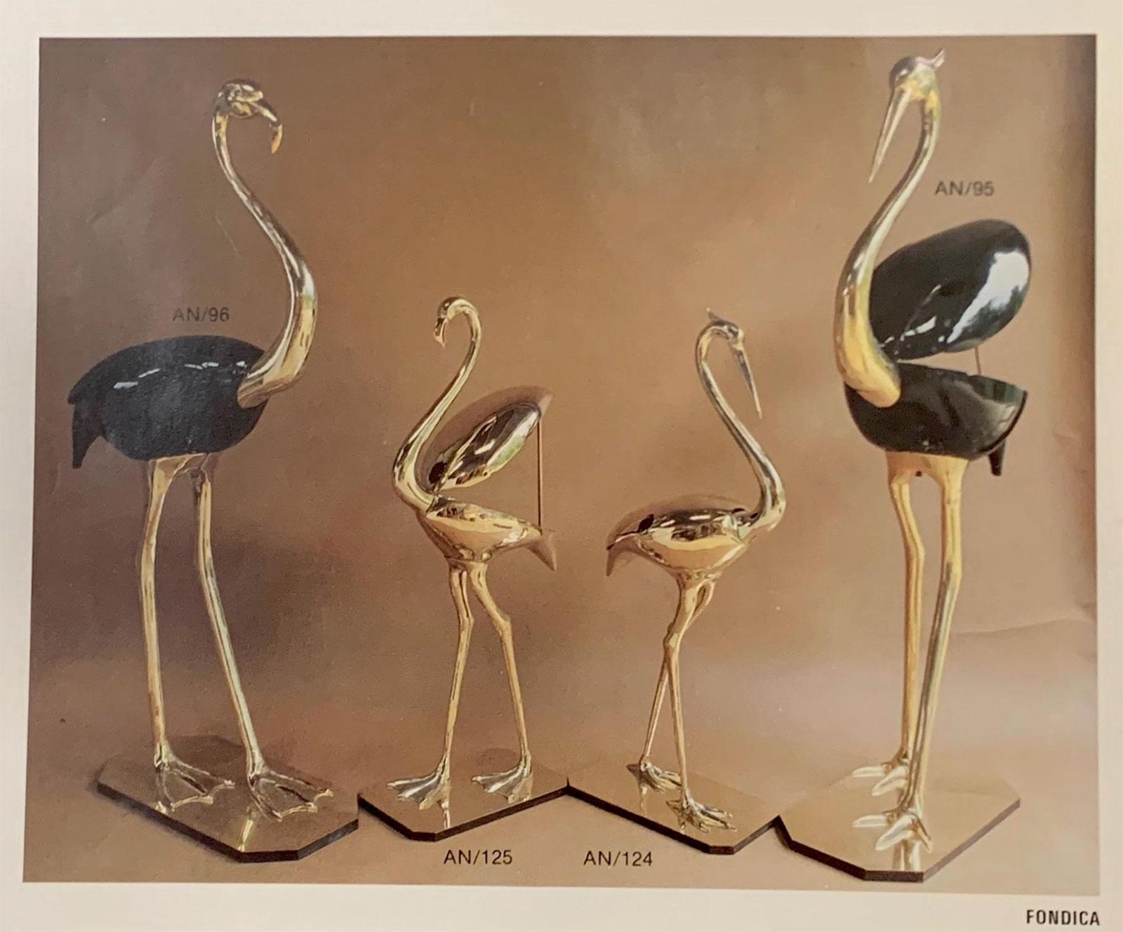 Fondica Lifesize Brass Flamingo 1970simage 8